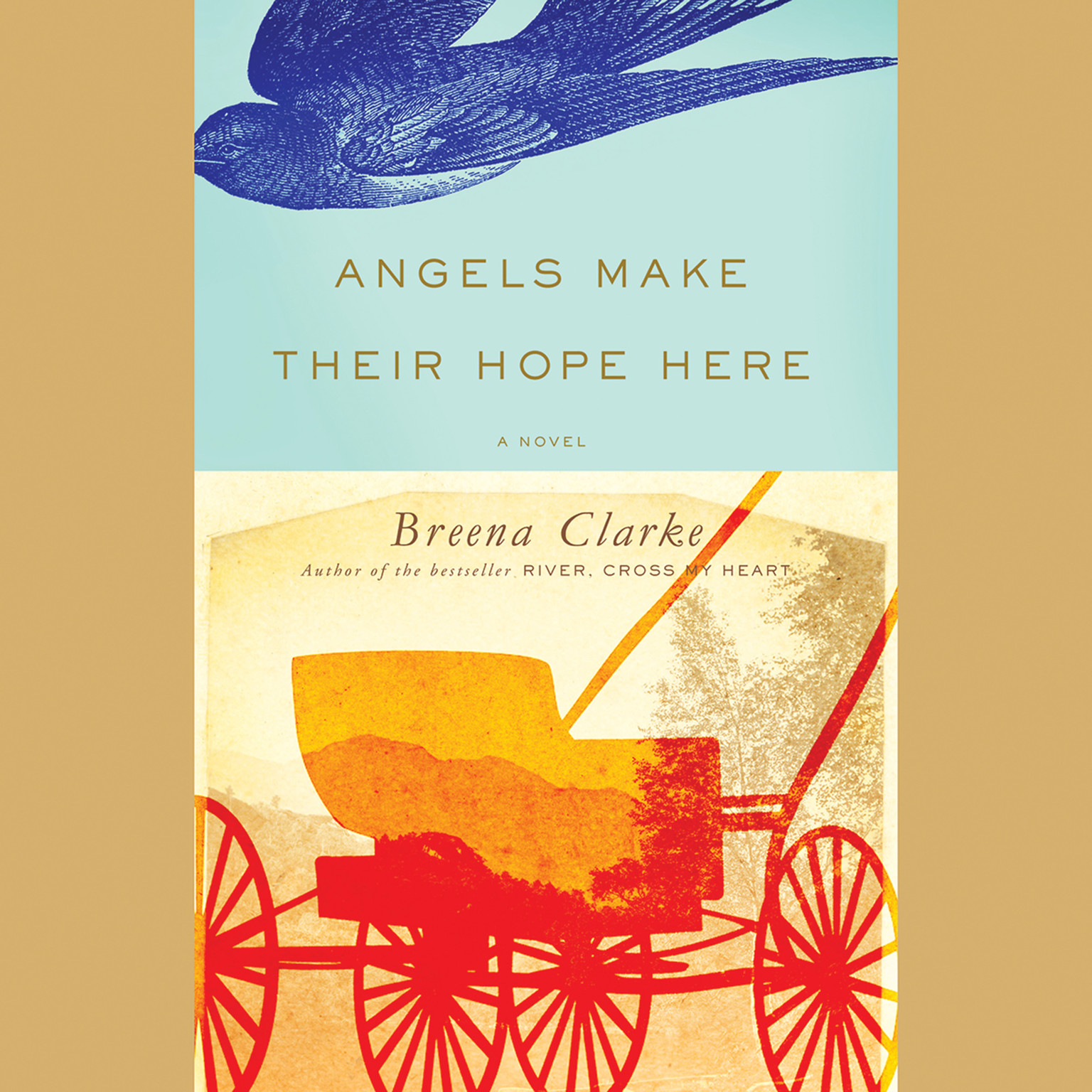 Printable Angels Make Their Hope Here: A Novel Audiobook Cover Art