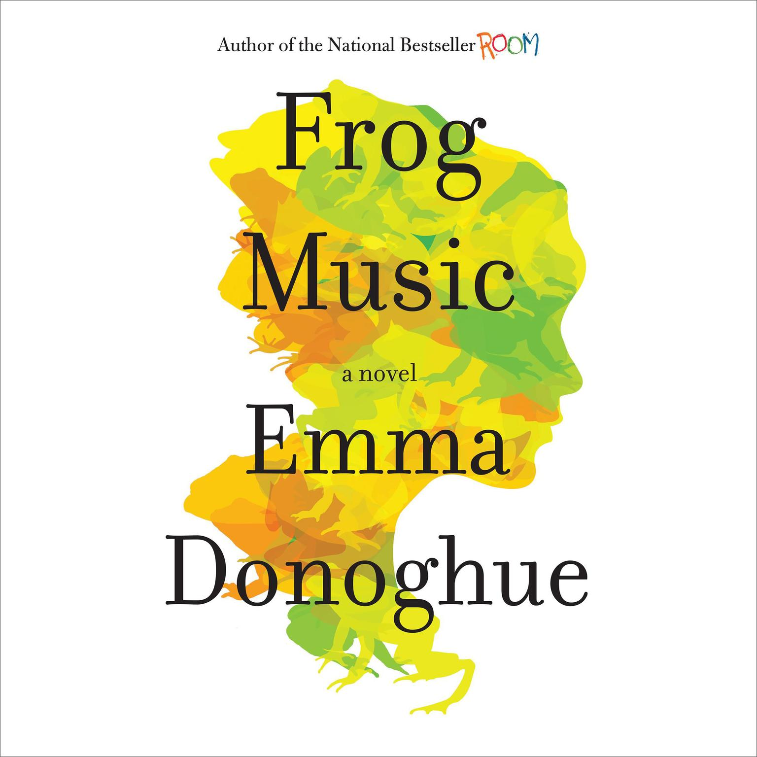 Printable Frog Music: A Novel Audiobook Cover Art