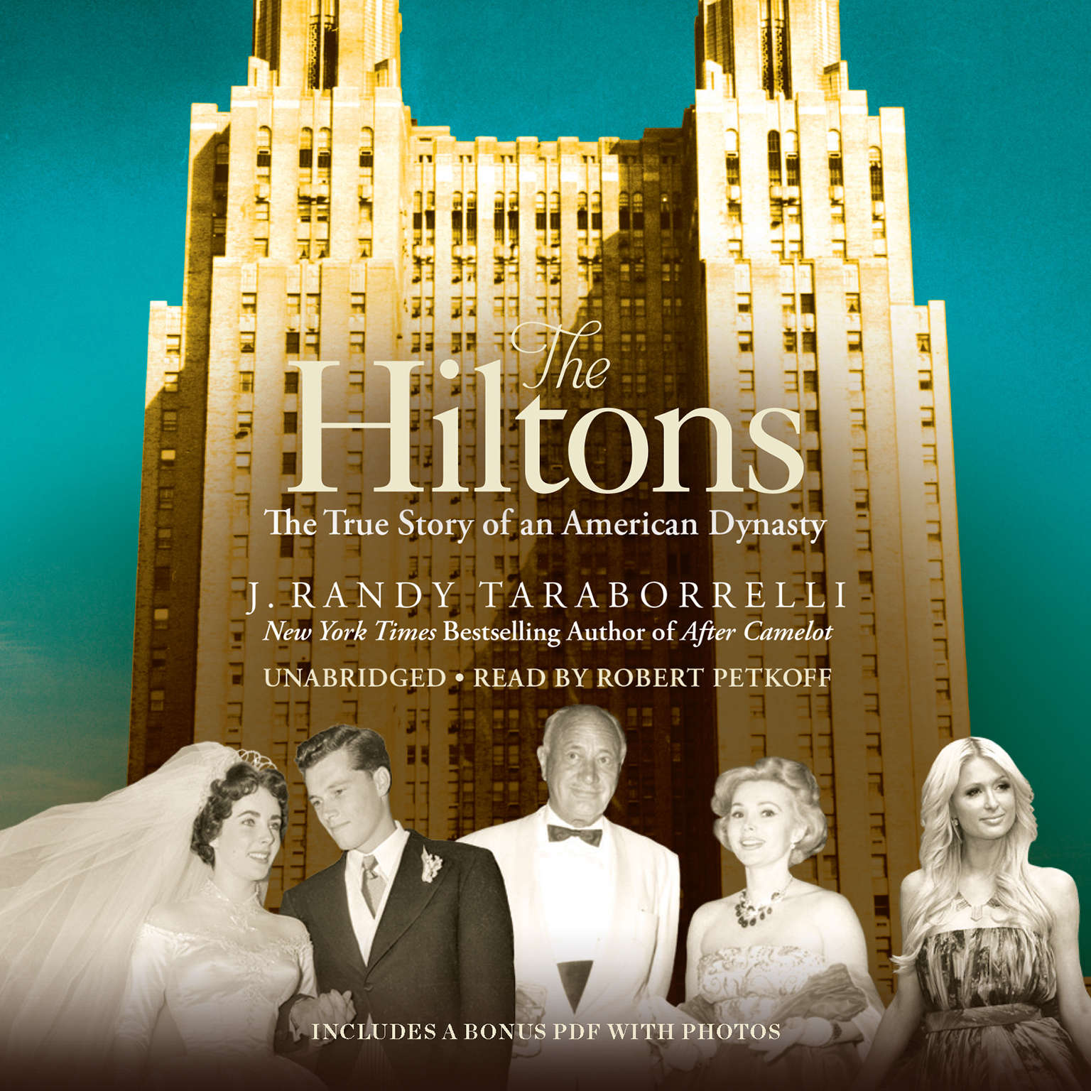 Printable The Hiltons: The True Story of an American Dynasty Audiobook Cover Art