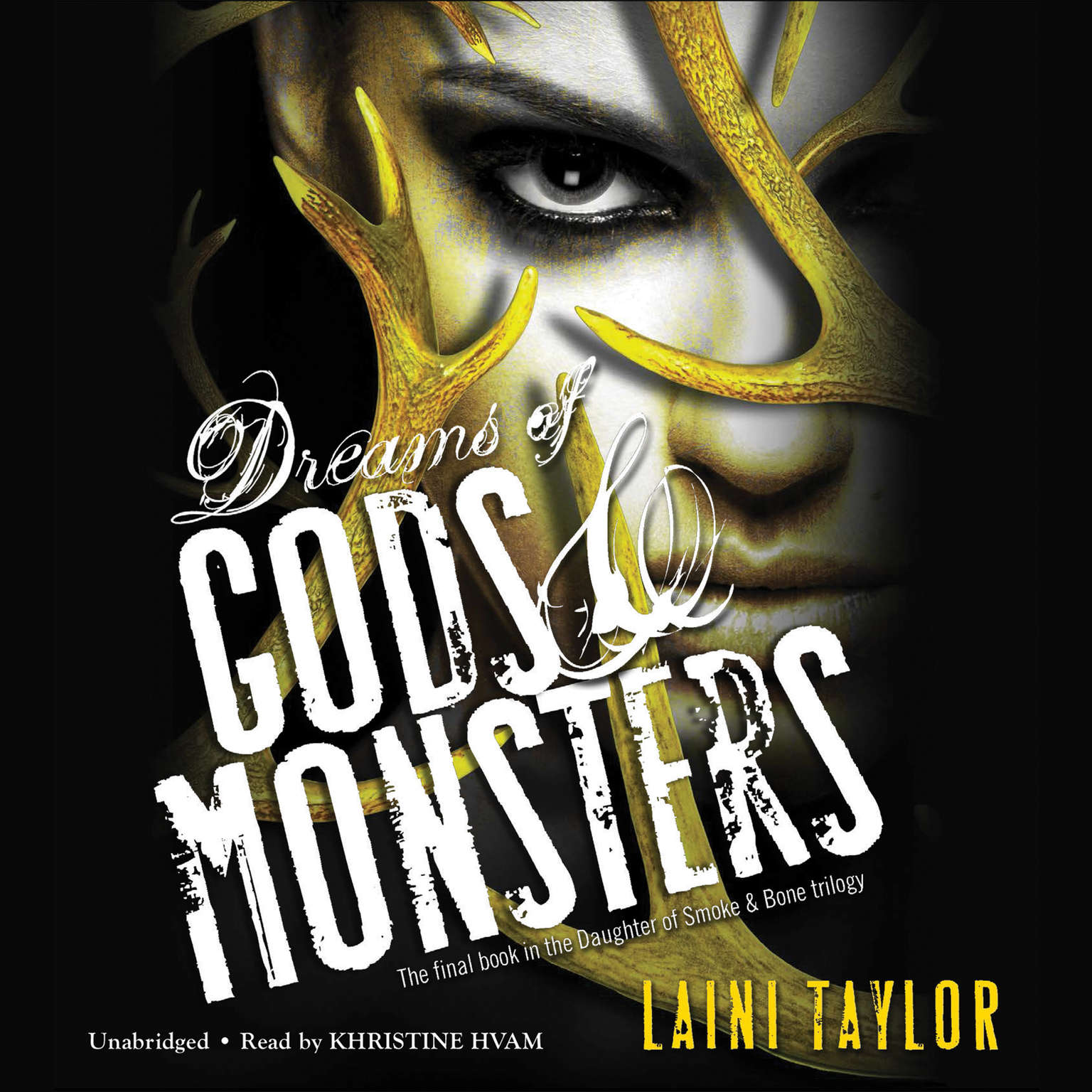 Printable Dreams of Gods and Monsters Audiobook Cover Art