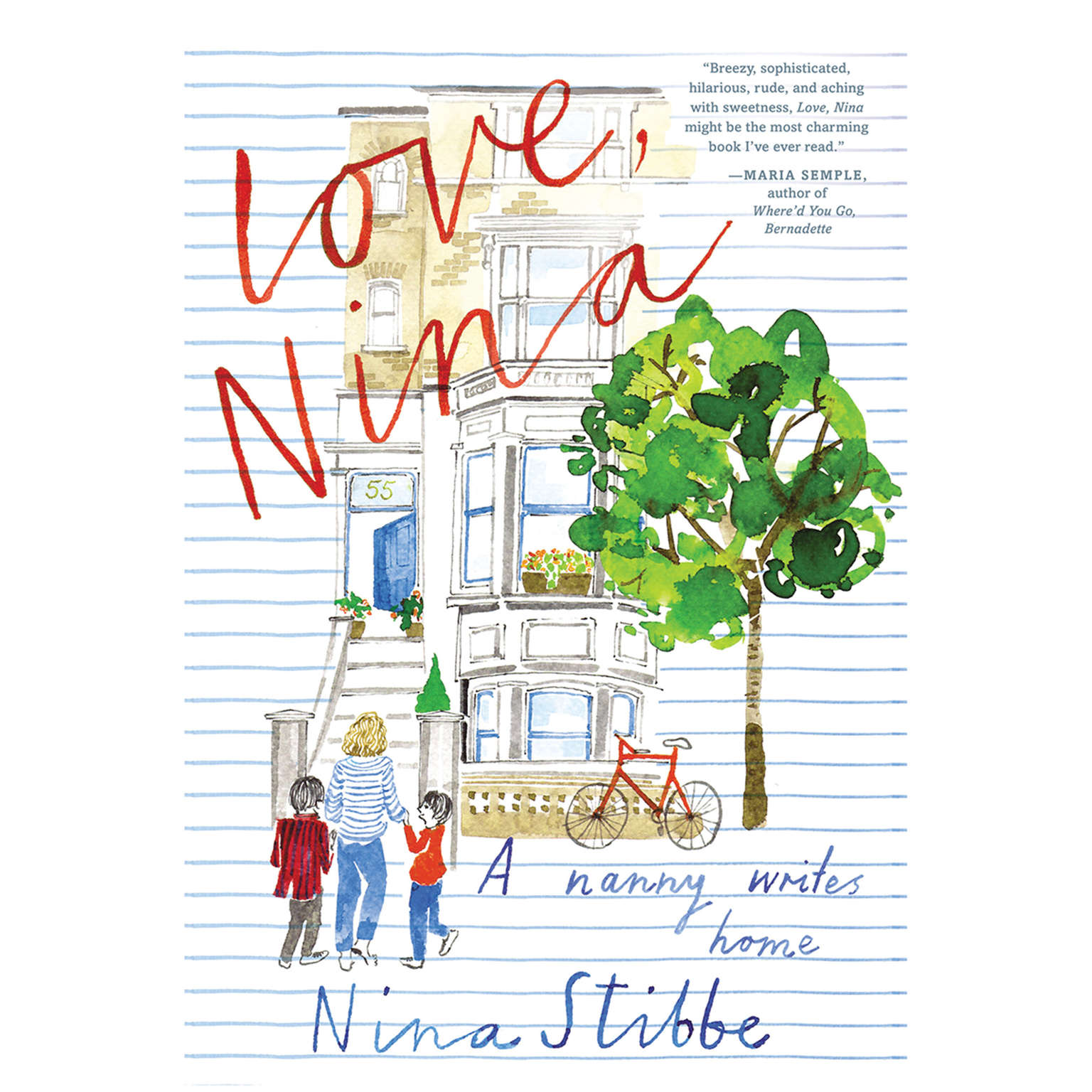 Printable Love, Nina: A Nanny Writes Home Audiobook Cover Art