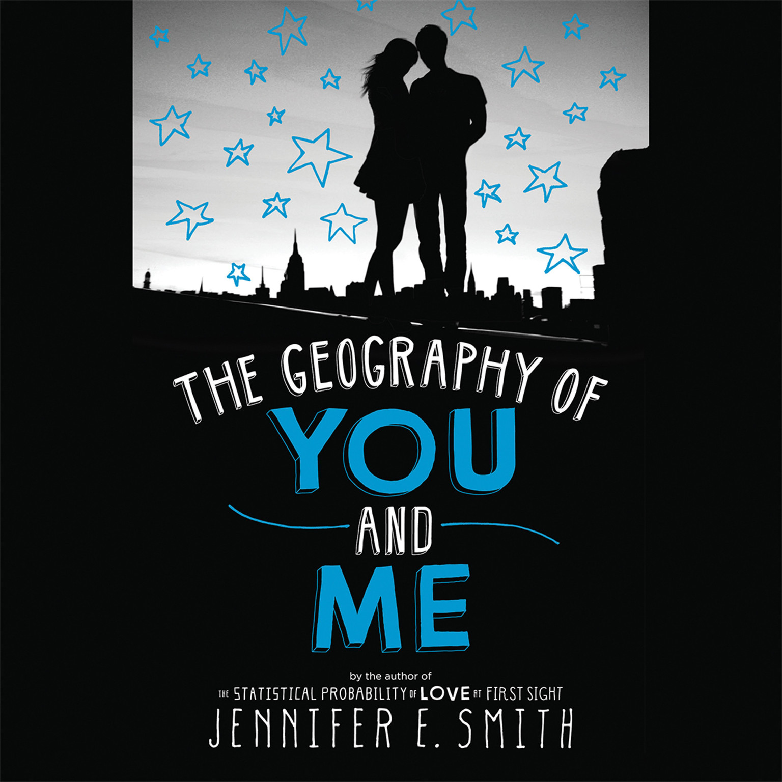 Printable The Geography of You and Me Audiobook Cover Art