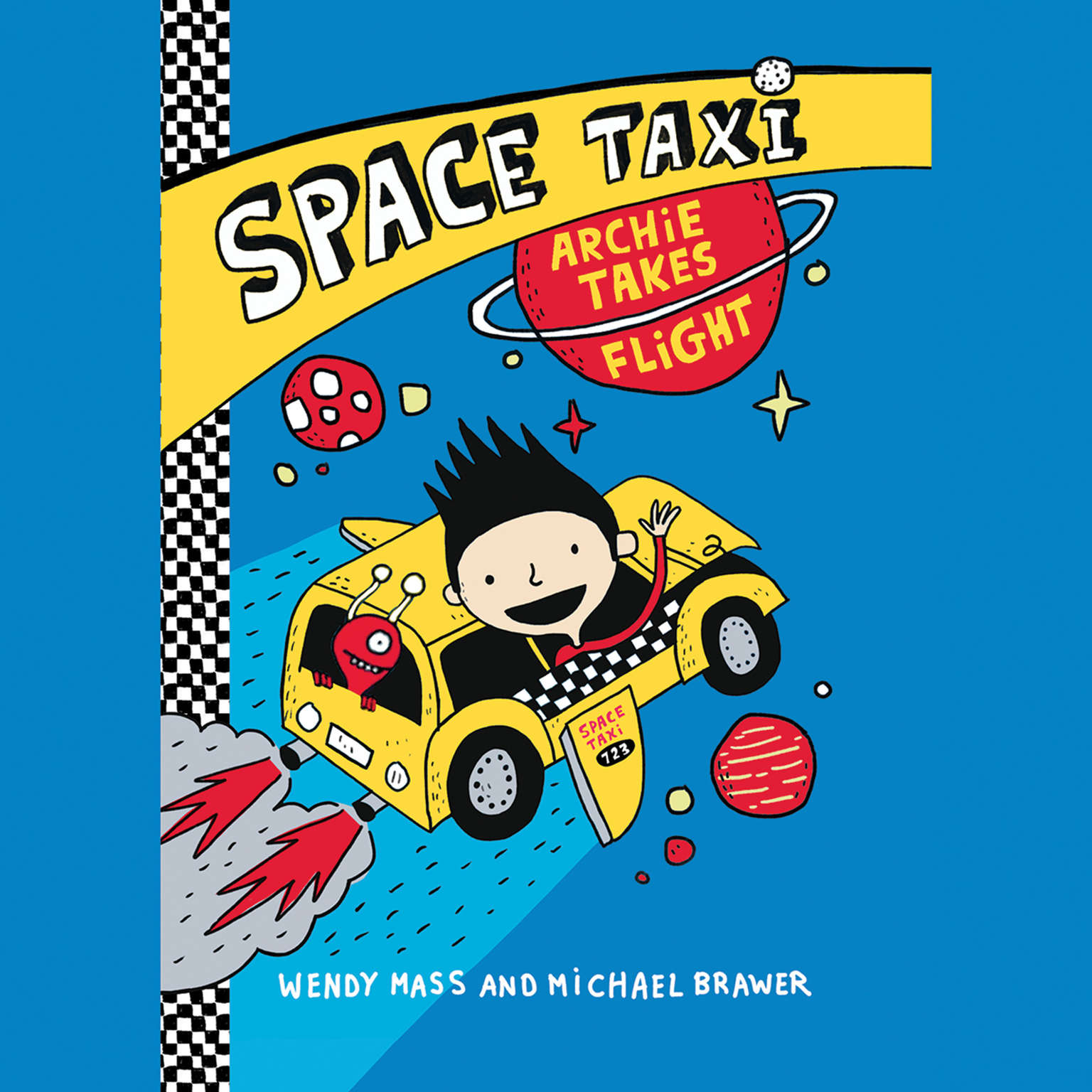 Printable Space Taxi: Archie Takes Flight: Archie Takes Flight Audiobook Cover Art