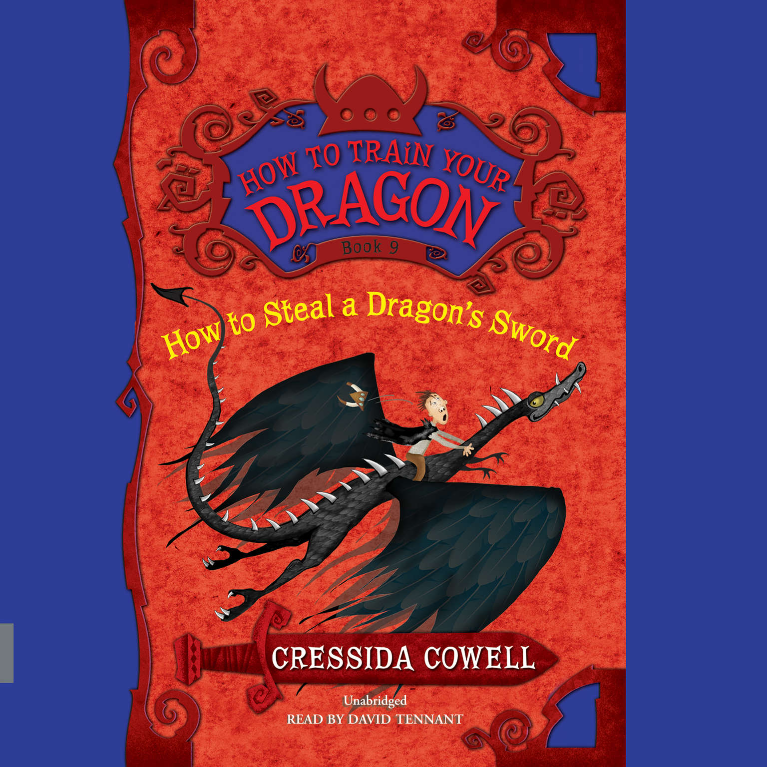 Printable How to Steal a Dragon's Sword Audiobook Cover Art