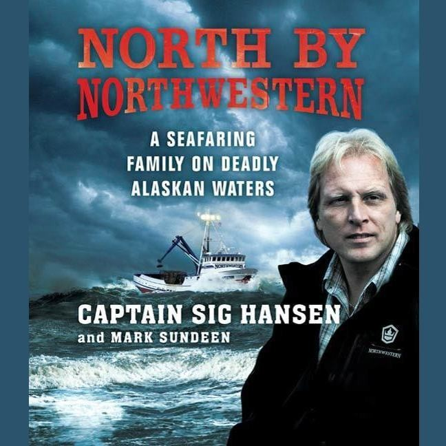 Printable North by Northwestern: A Seafaring Family on Deadly Alaskan Waters Audiobook Cover Art