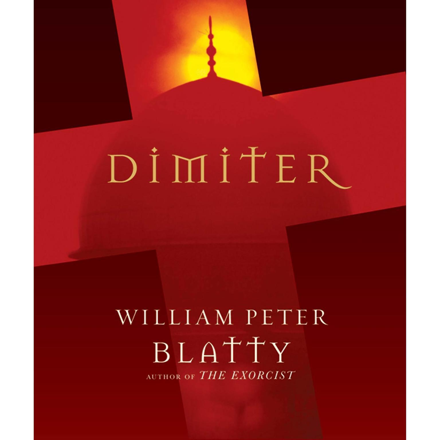 Printable Dimiter Audiobook Cover Art