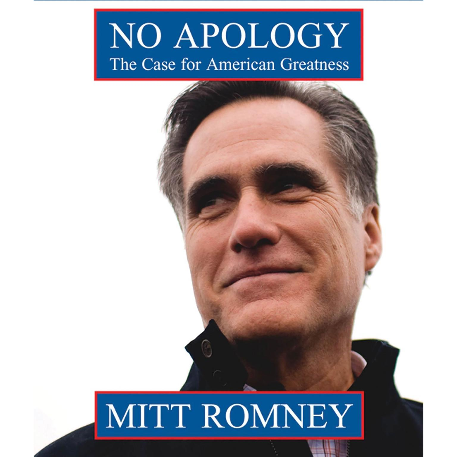 Printable No Apology: The Case for American Greatness Audiobook Cover Art