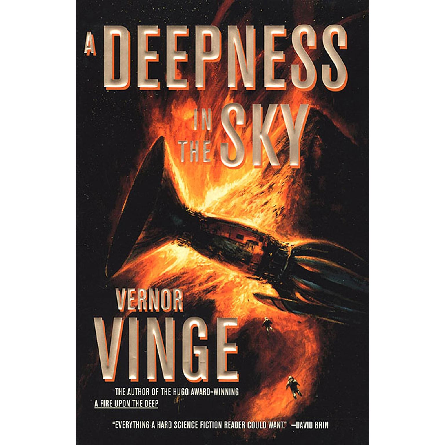 Printable A Deepness in the Sky Audiobook Cover Art