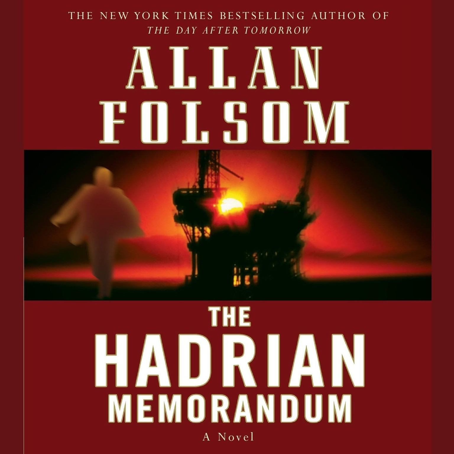 Printable The Hadrian Memorandum: A Novel Audiobook Cover Art