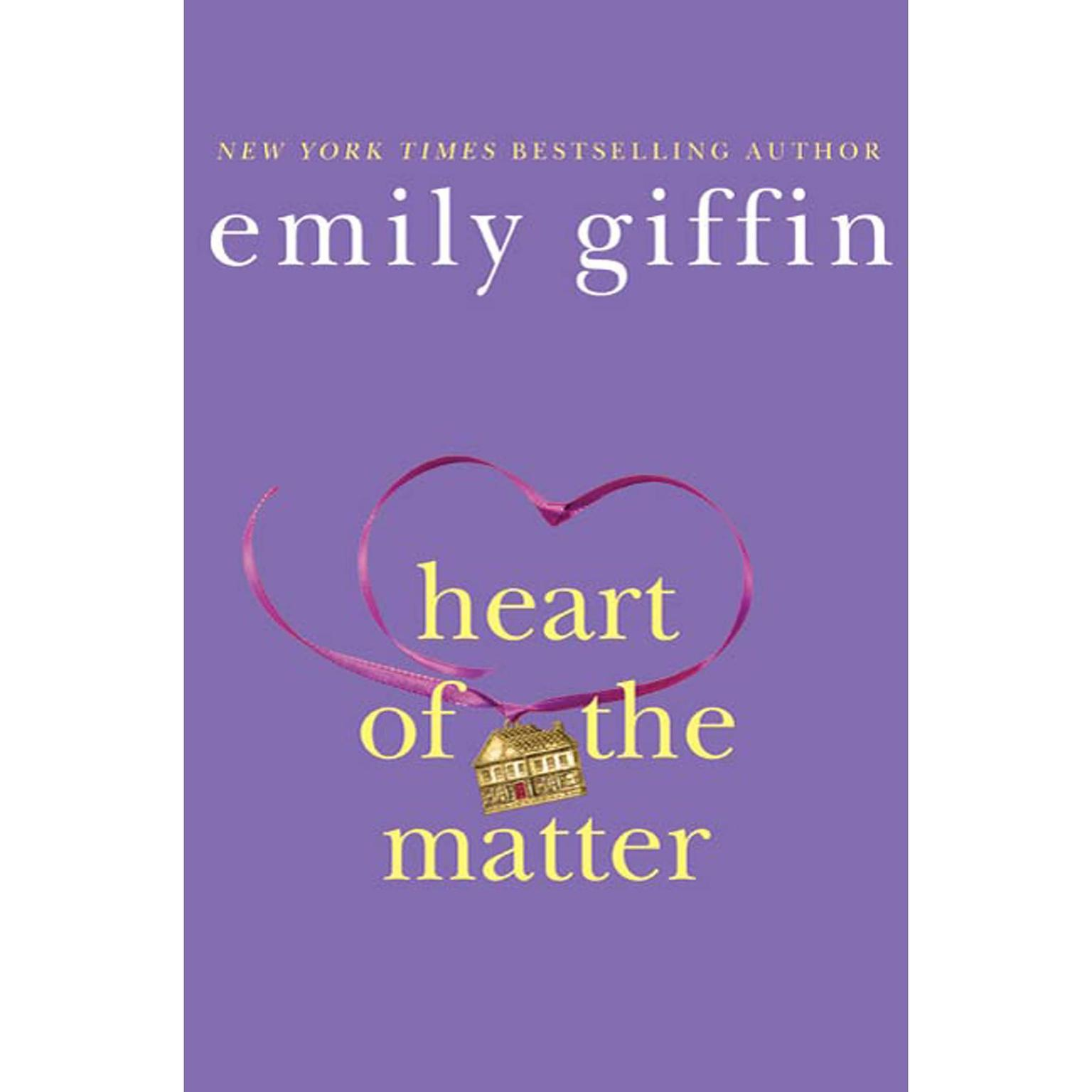Printable Heart of the Matter: A Novel Audiobook Cover Art
