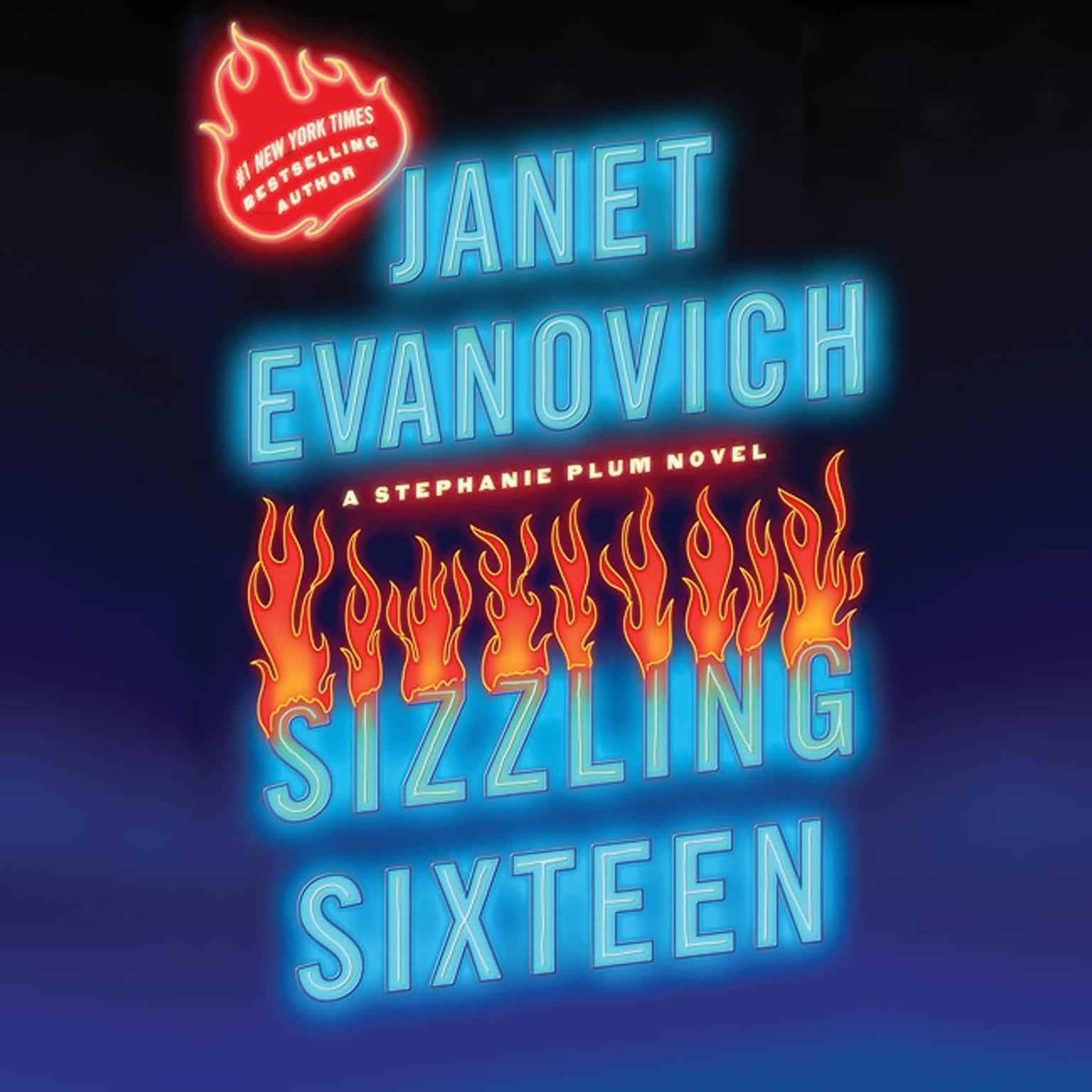 Printable Sizzling Sixteen Audiobook Cover Art