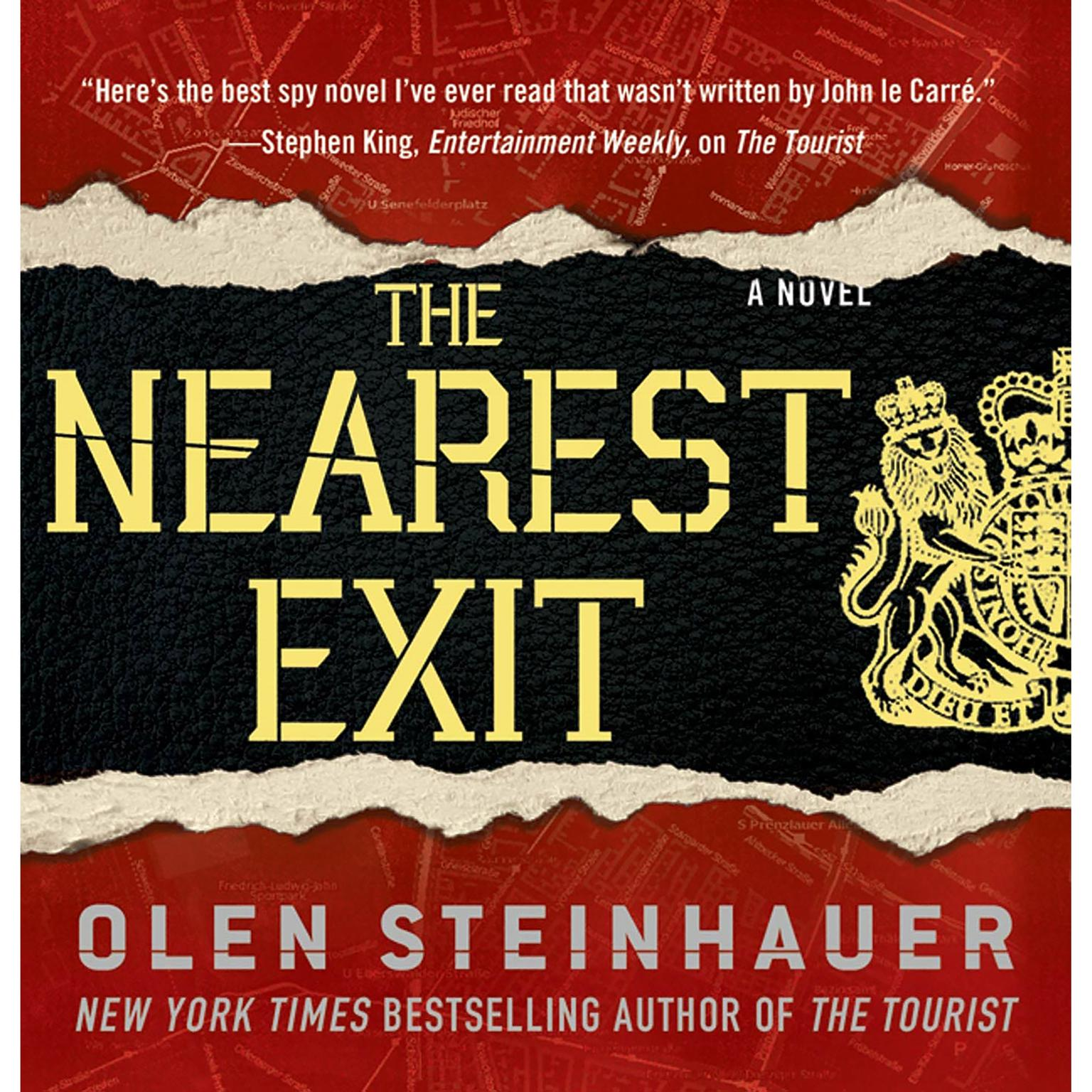 Printable The Nearest Exit Audiobook Cover Art