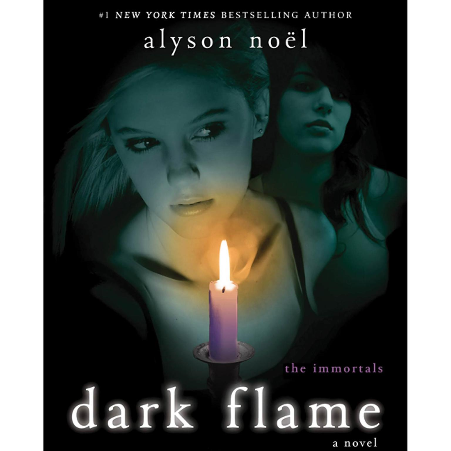 Printable Dark Flame: A Novel Audiobook Cover Art