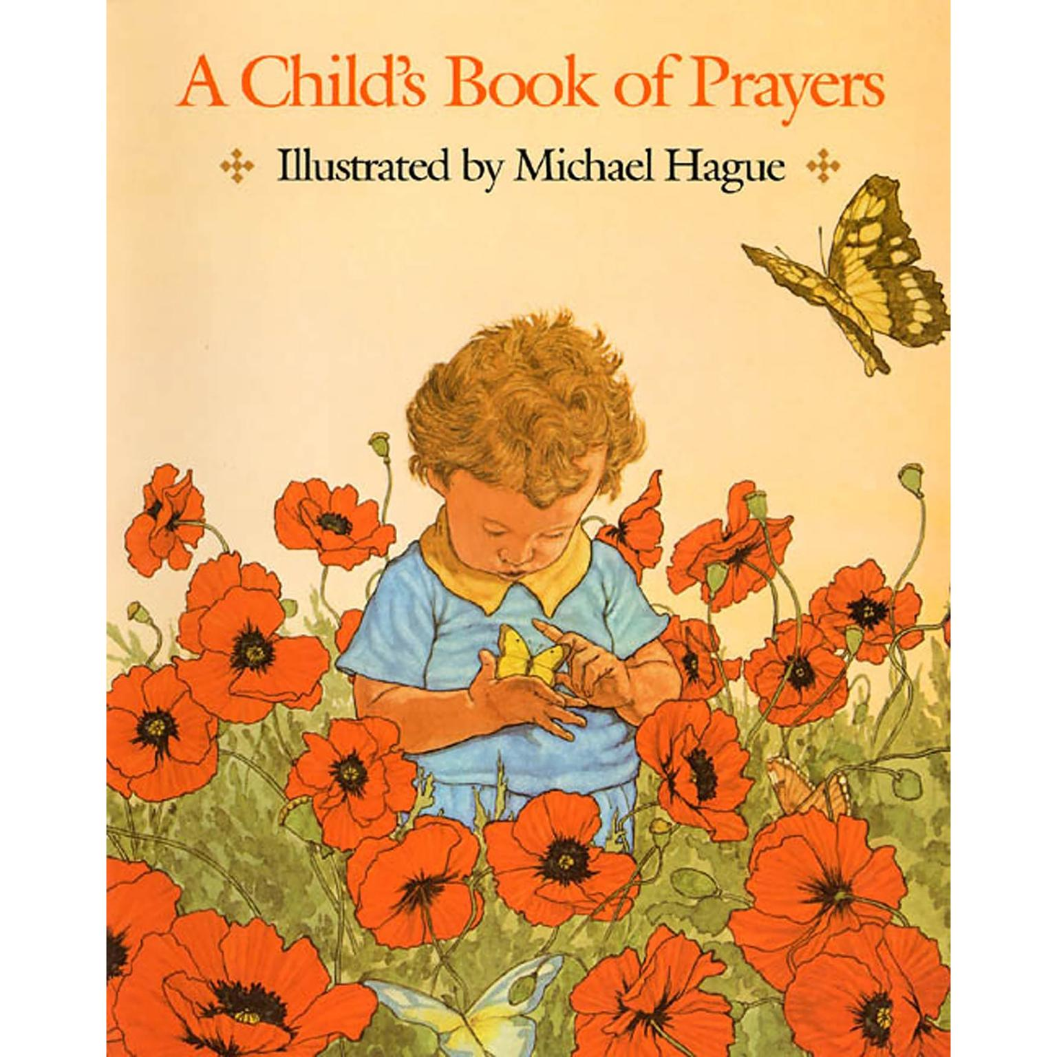 Printable A Child's Book of Prayers Audiobook Cover Art