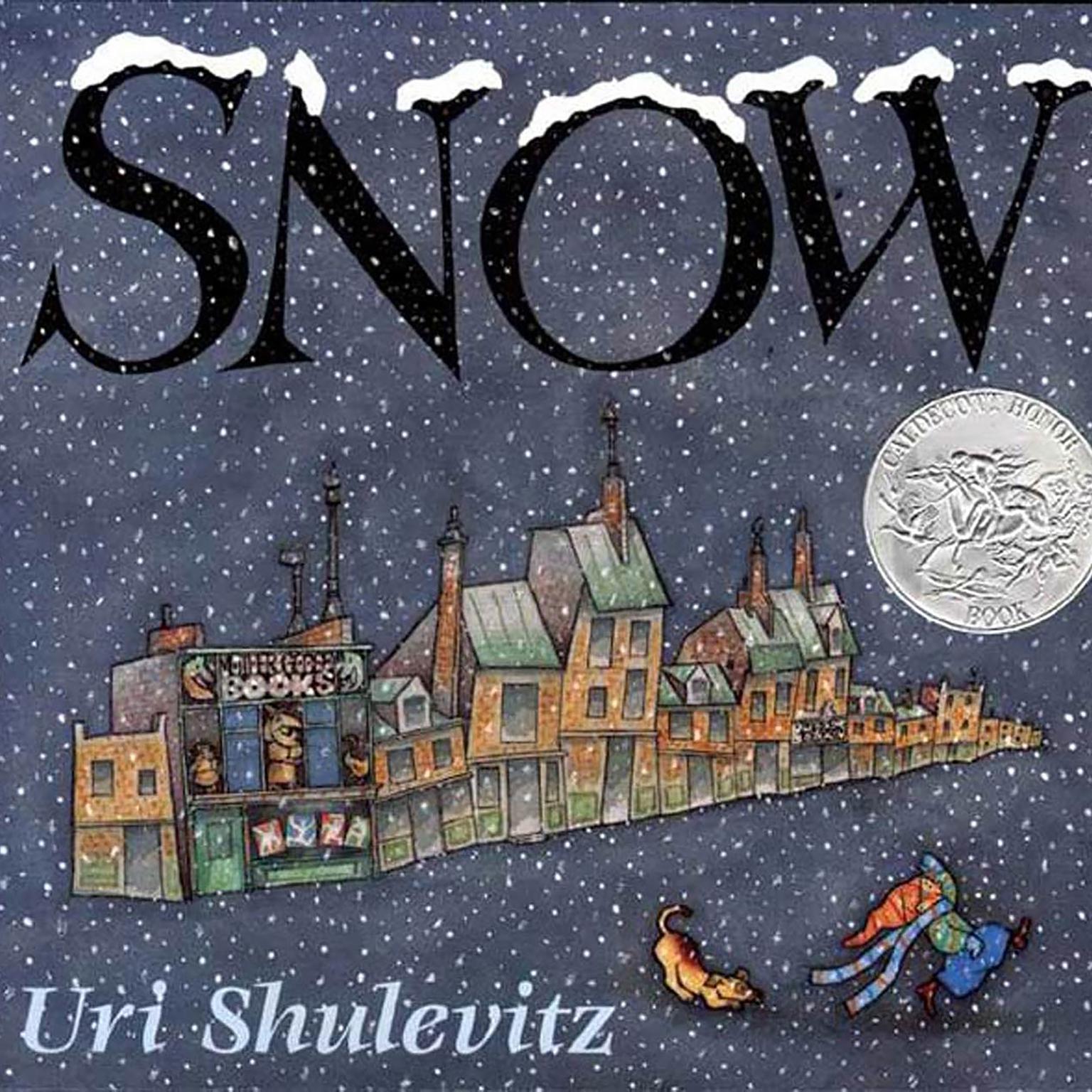 Printable Snow Audiobook Cover Art