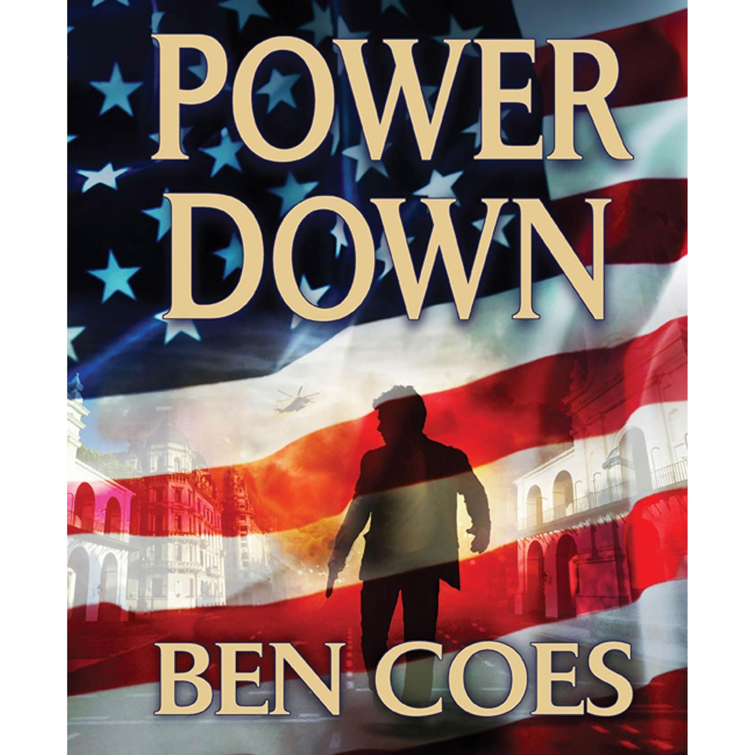 Printable Power Down Audiobook Cover Art