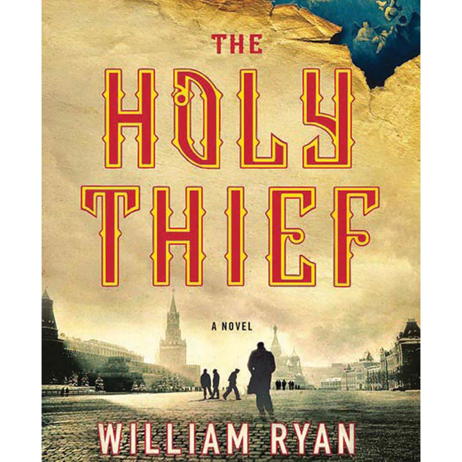Printable The Holy Thief: A Novel Audiobook Cover Art