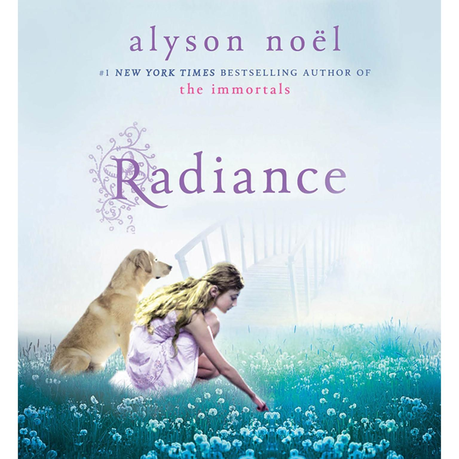 Printable Radiance: A Riley Bloom Book Audiobook Cover Art