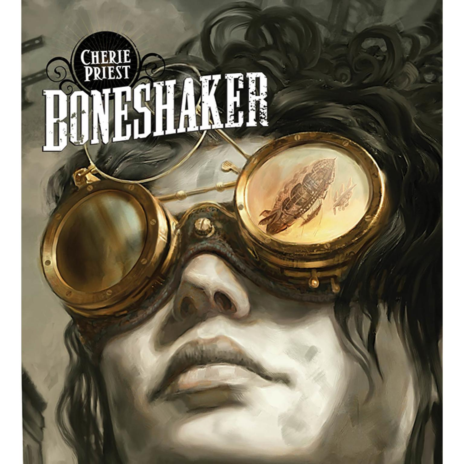 Printable Boneshaker Audiobook Cover Art