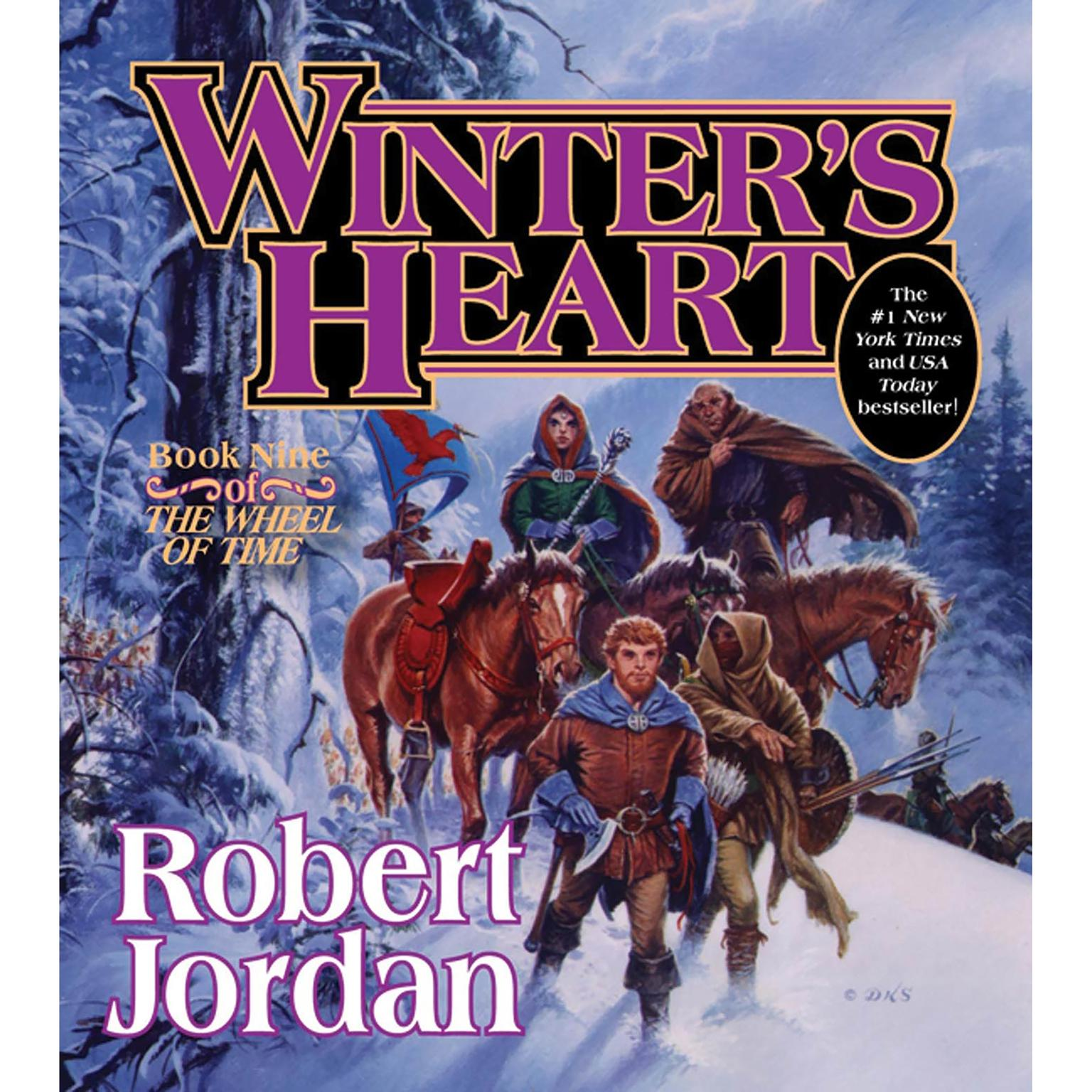 Printable Winter's Heart: Book Nine of 'The Wheel of Time' Audiobook Cover Art