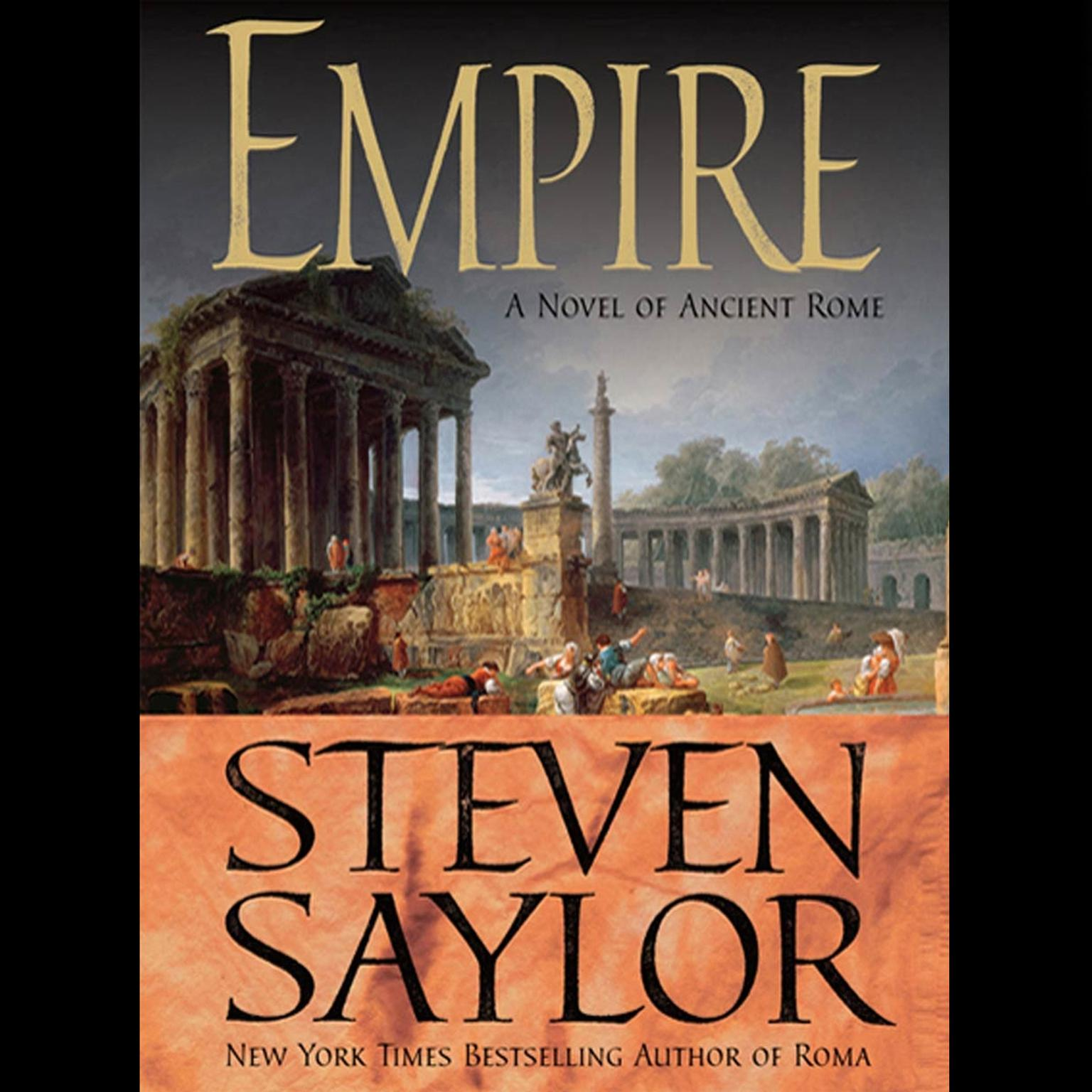 Printable Empire: The Novel of Imperial Rome Audiobook Cover Art
