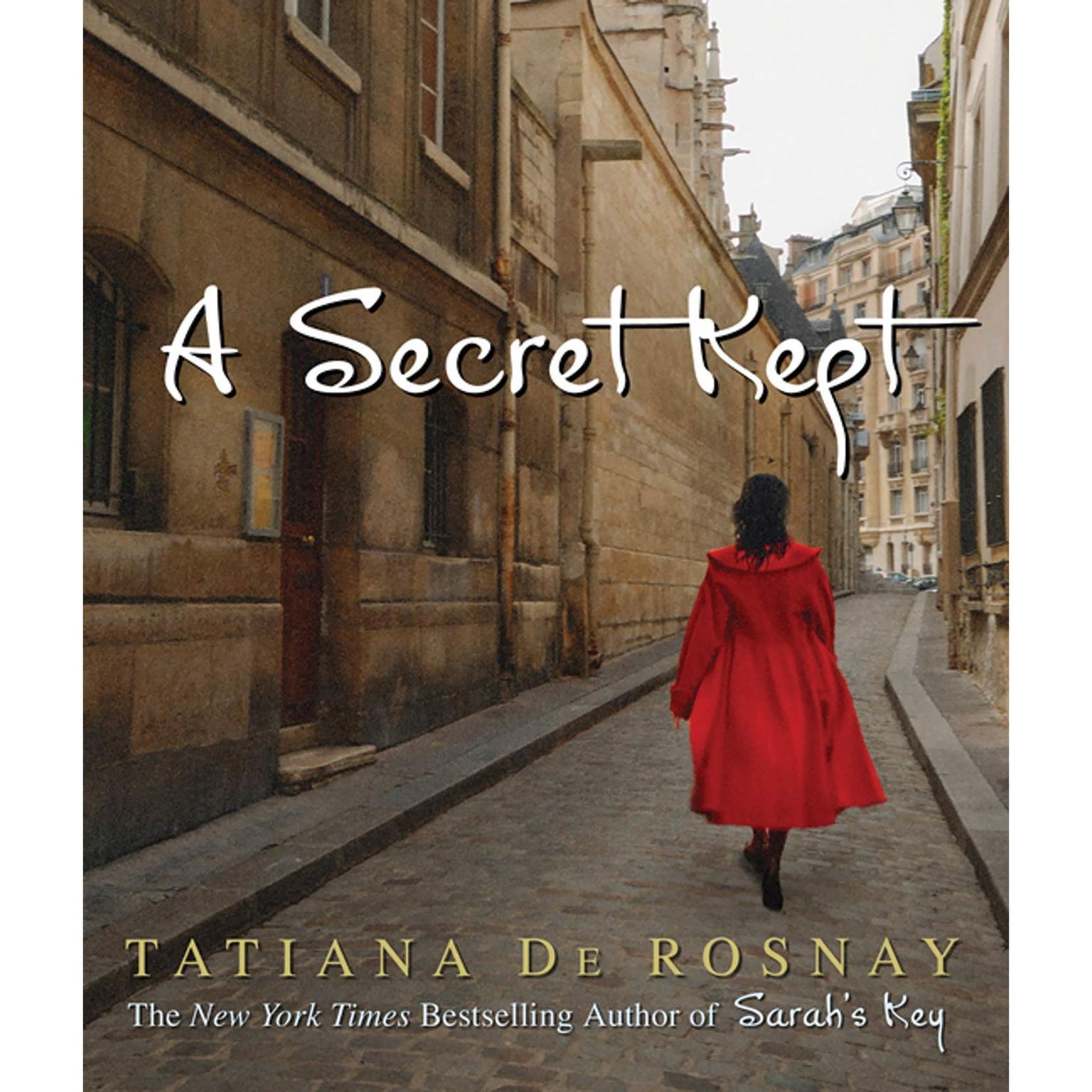 Printable A Secret Kept: A Novel Audiobook Cover Art