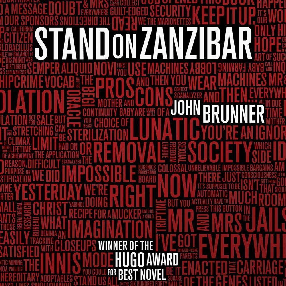 Printable Stand on Zanzibar Audiobook Cover Art
