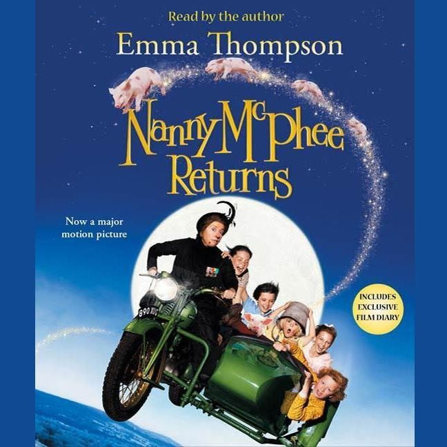 Printable Nanny McPhee Returns Audiobook Cover Art