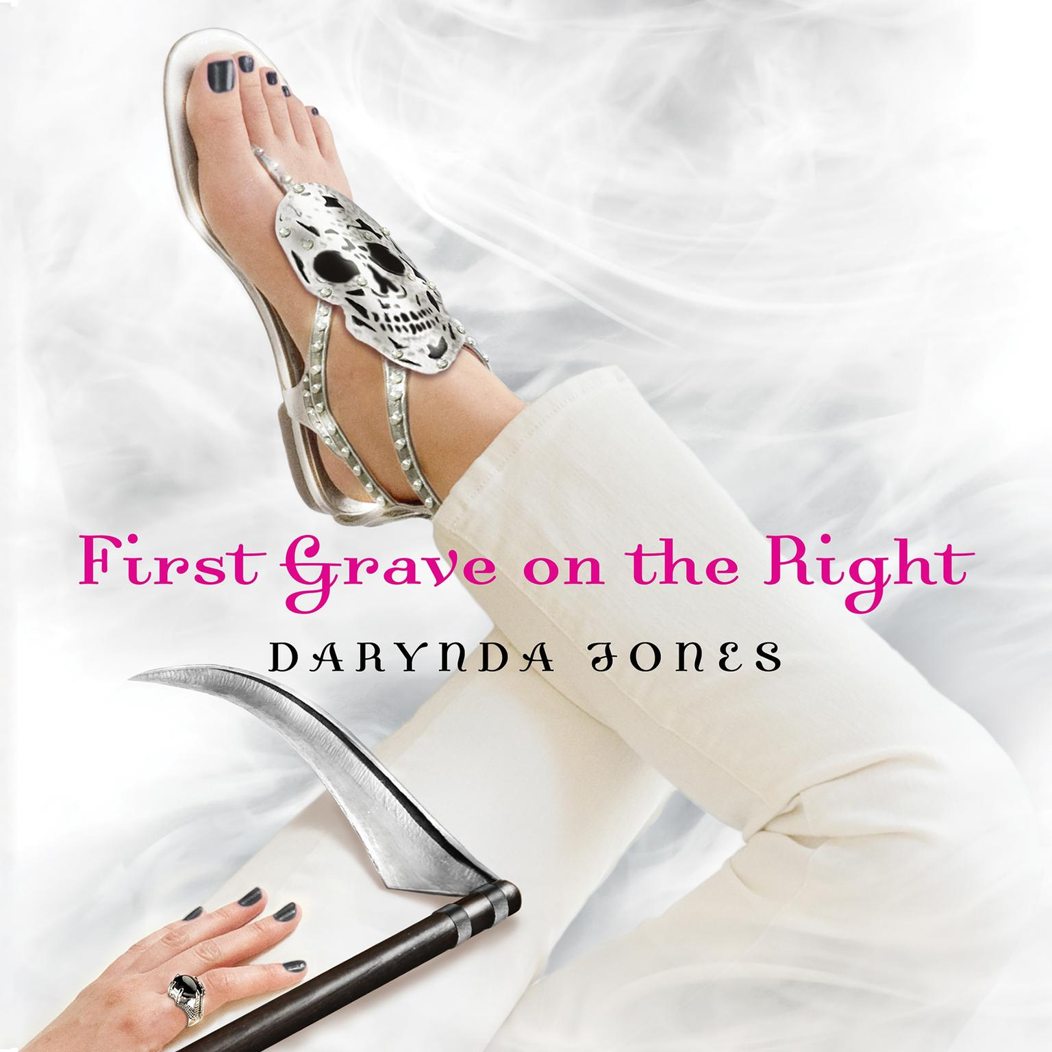 Printable First Grave on the Right Audiobook Cover Art
