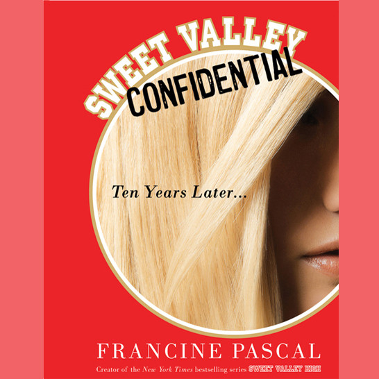 Printable Sweet Valley Confidential: Ten Years Later Audiobook Cover Art