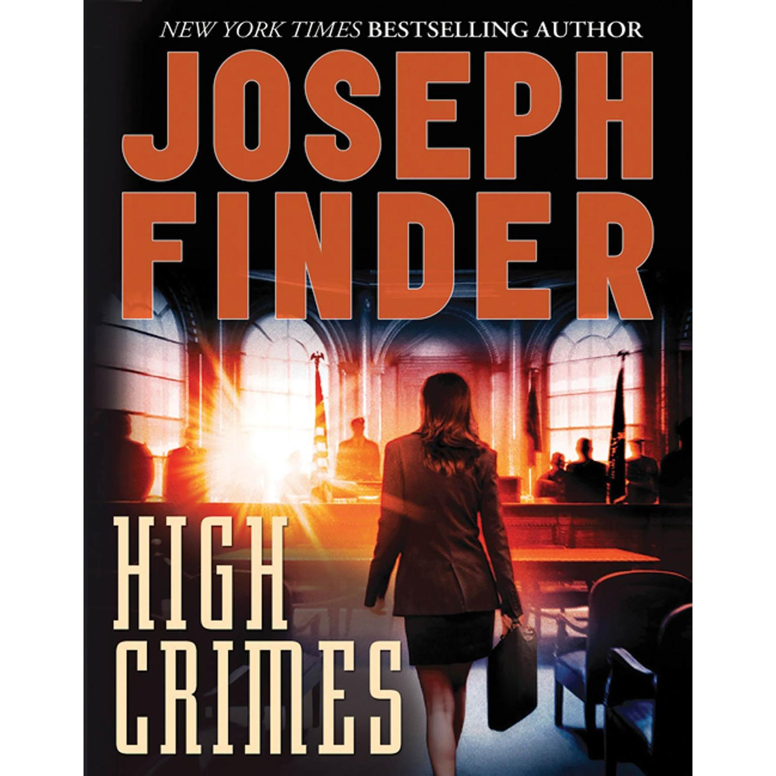Printable High Crimes Audiobook Cover Art