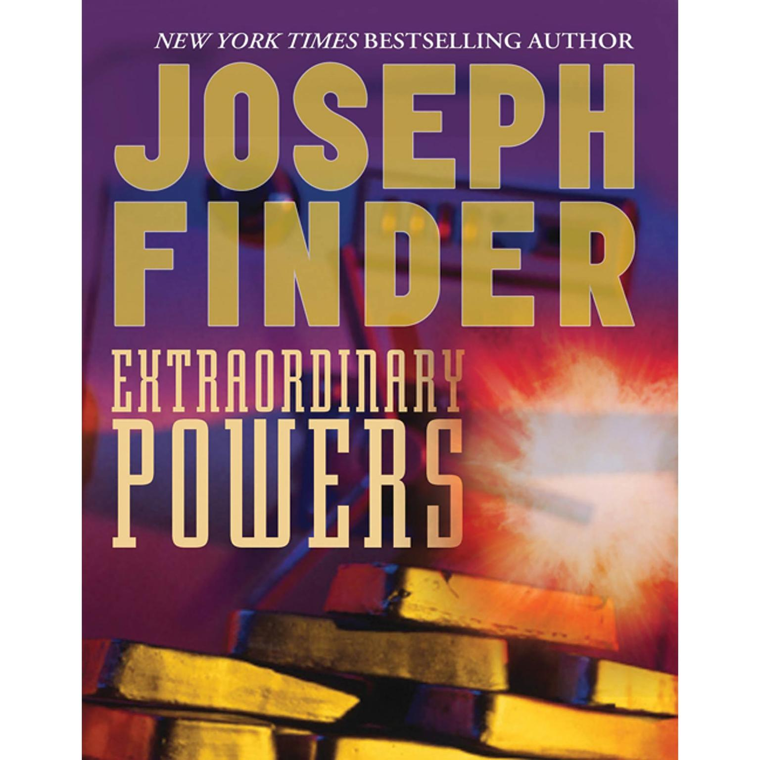 Printable Extraordinary Powers Audiobook Cover Art