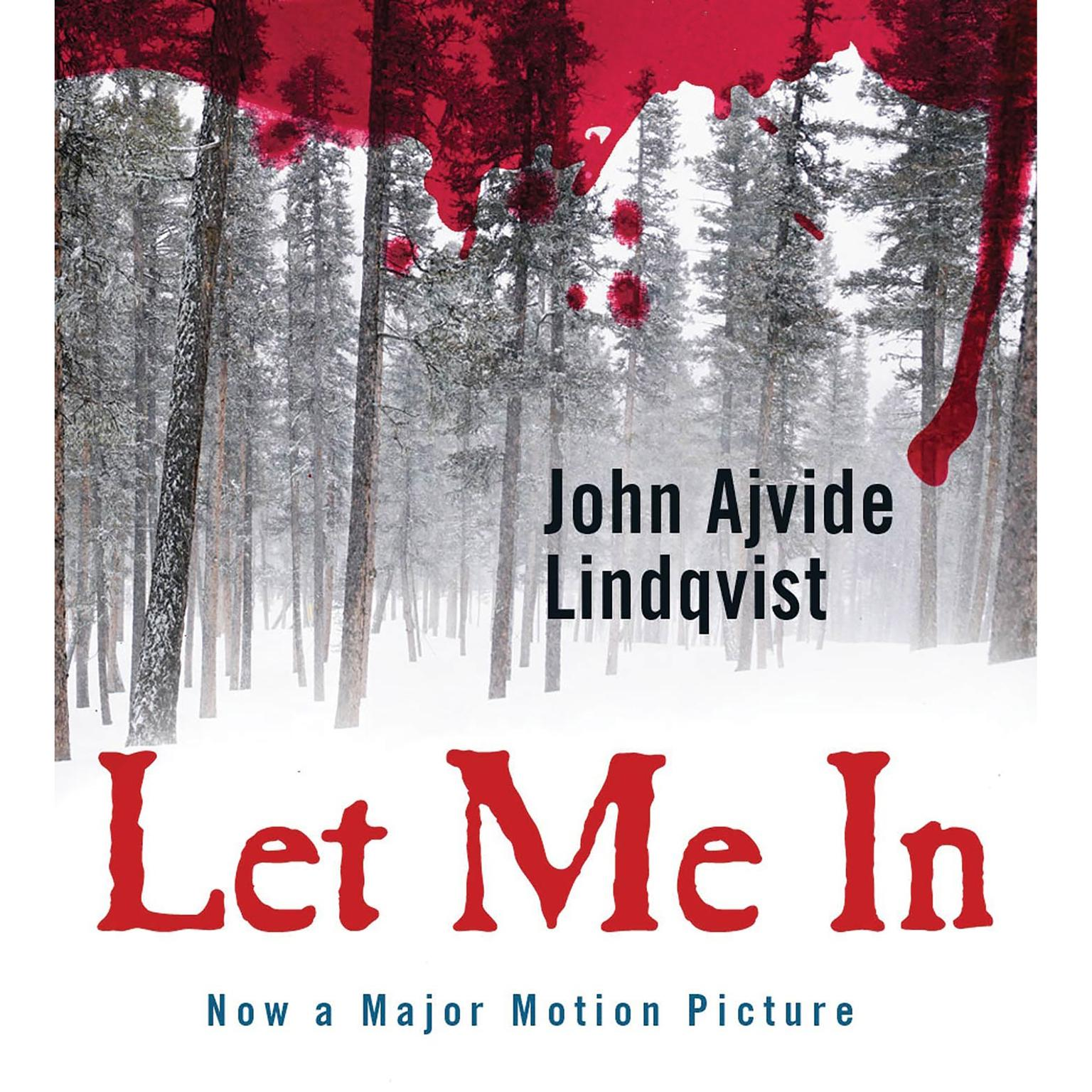 Printable Let Me In Audiobook Cover Art