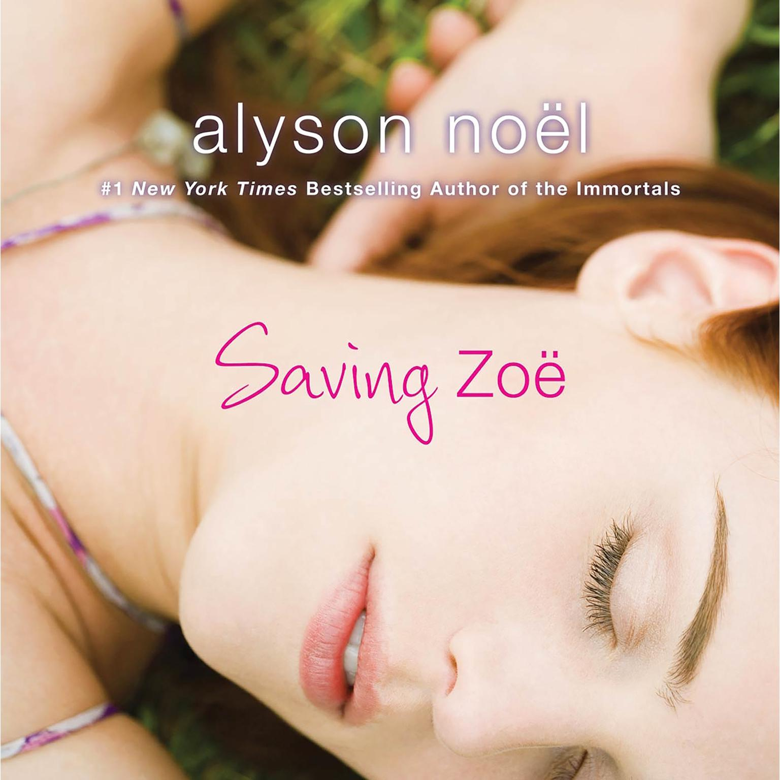 Printable Saving Zoe: A Novel Audiobook Cover Art