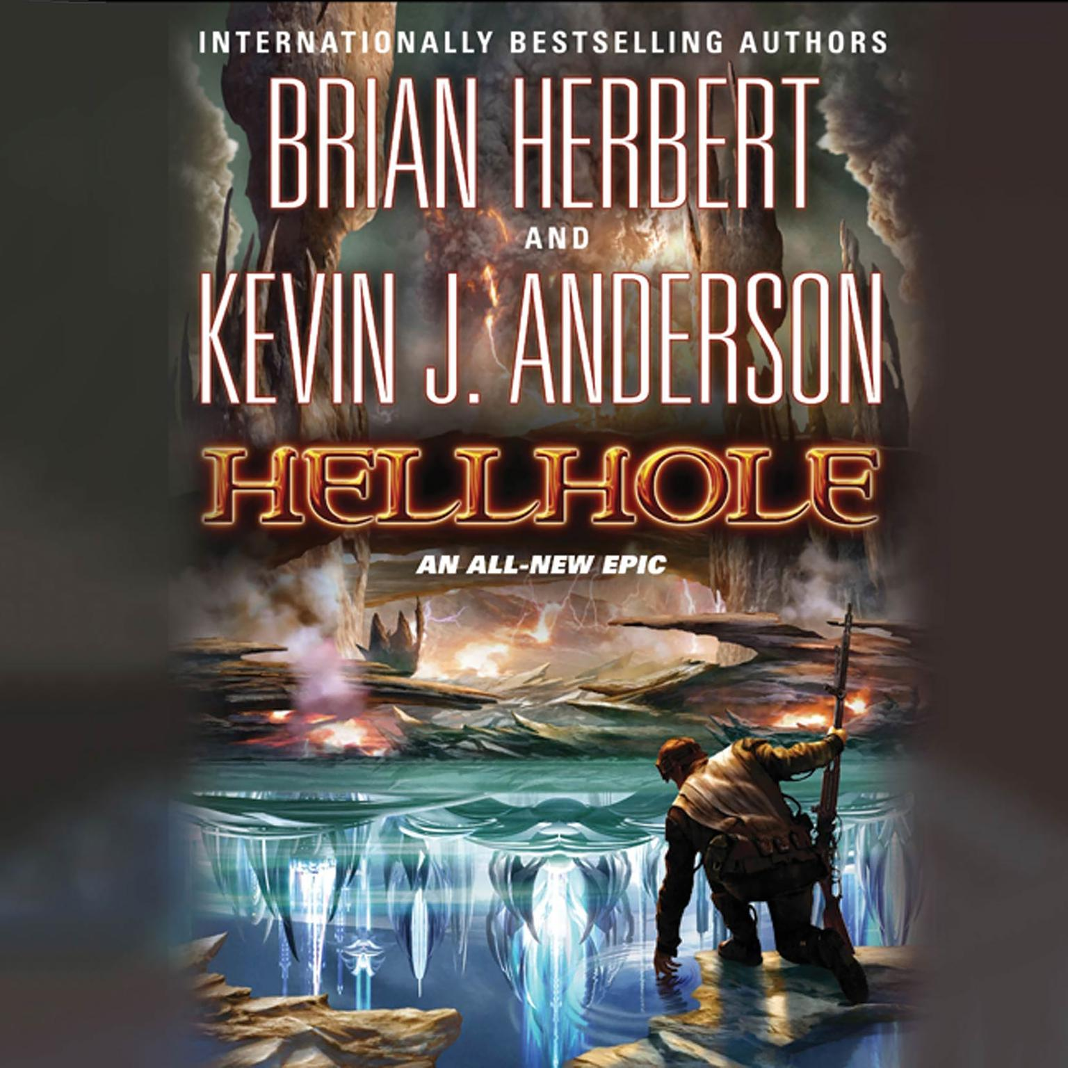 Printable Hellhole Audiobook Cover Art