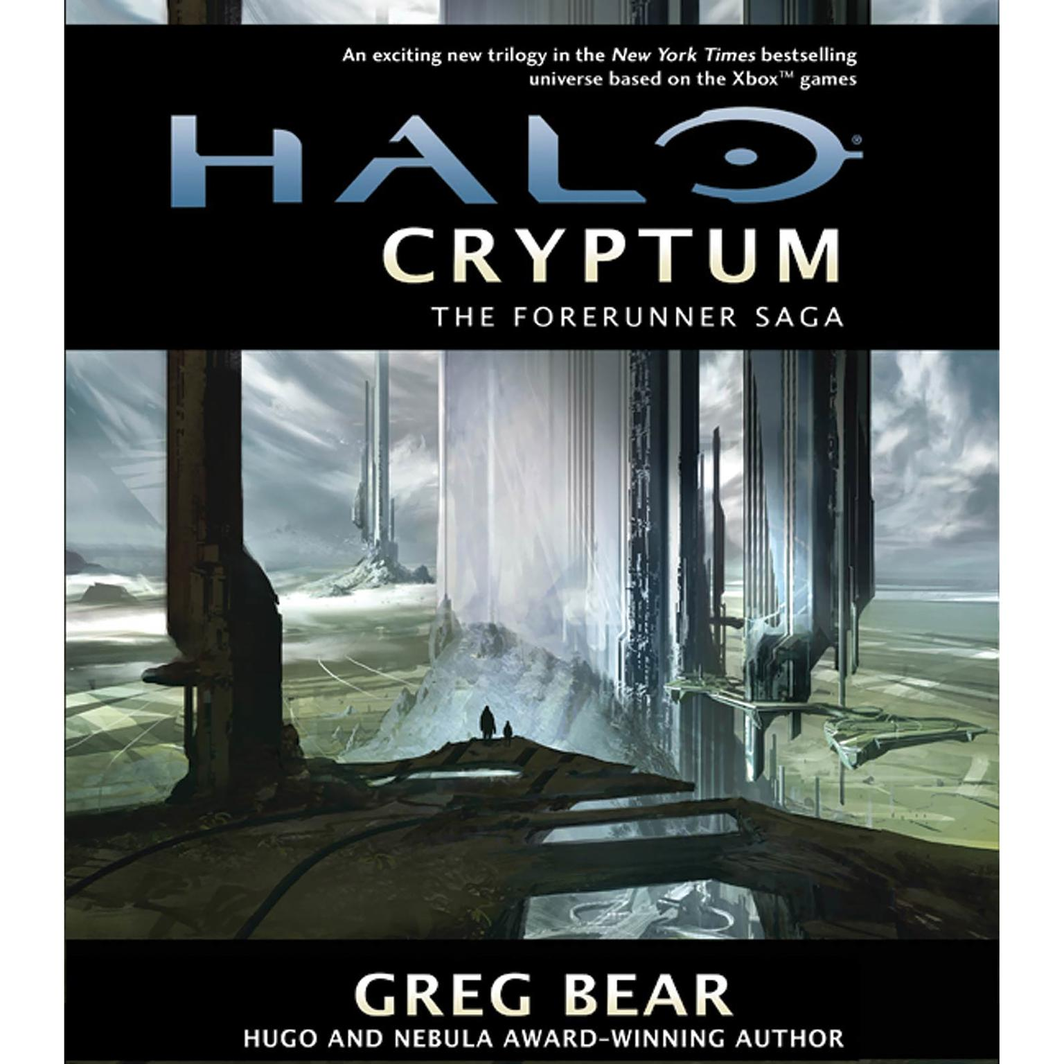 Printable Halo: Cryptum: Book One of the Forerunner Saga Audiobook Cover Art