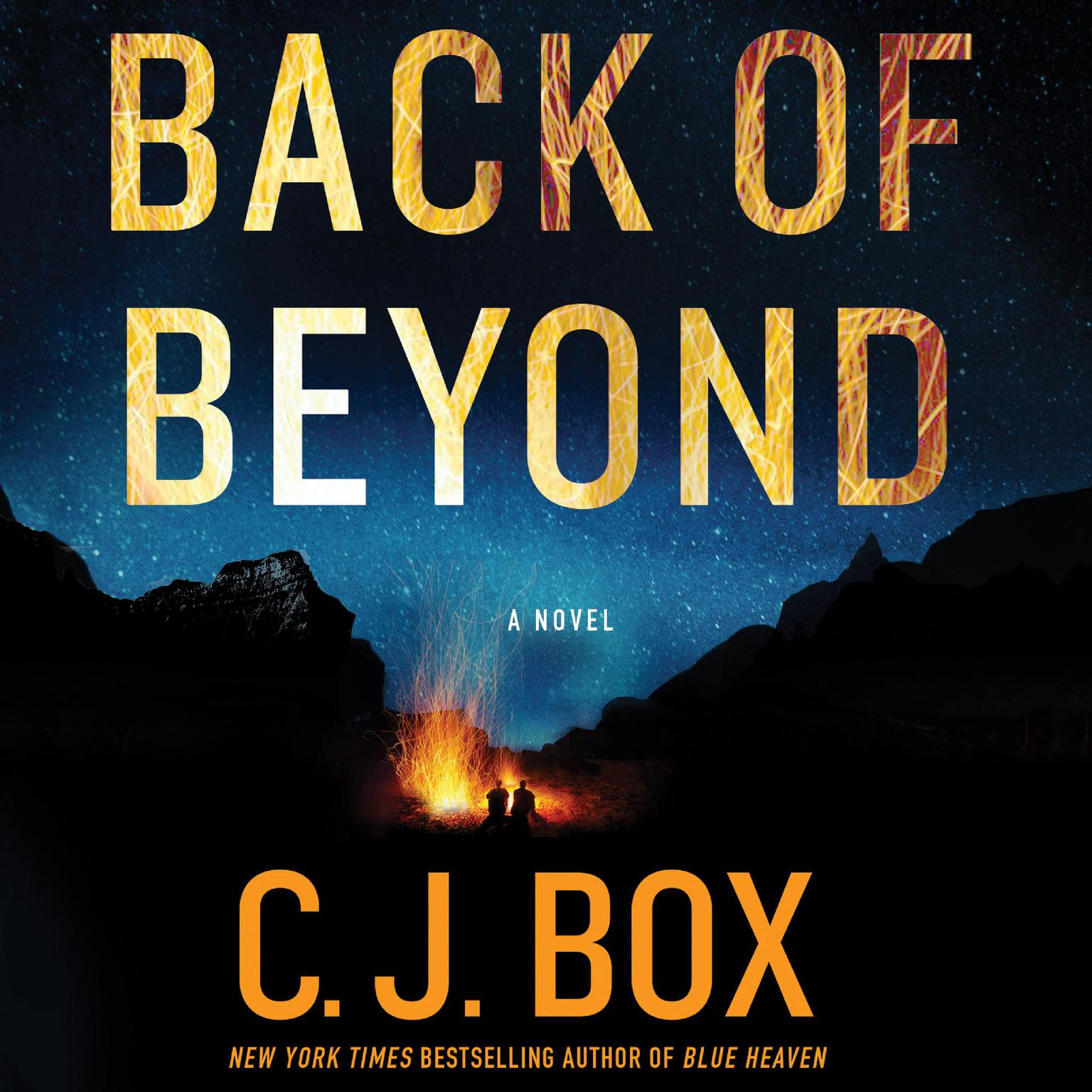 Printable Back of Beyond: A Novel Audiobook Cover Art