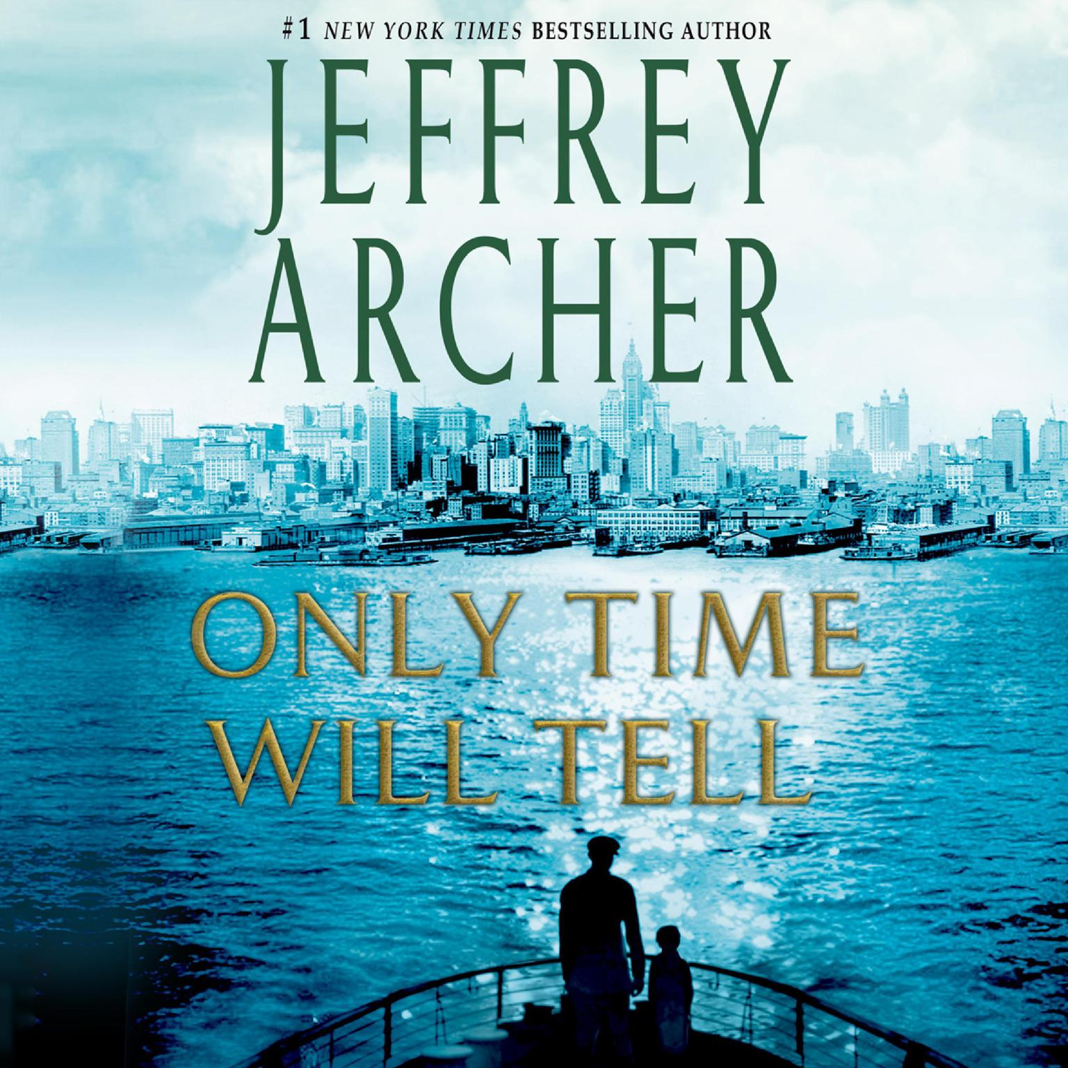 Printable Only Time Will Tell: A Novel Audiobook Cover Art