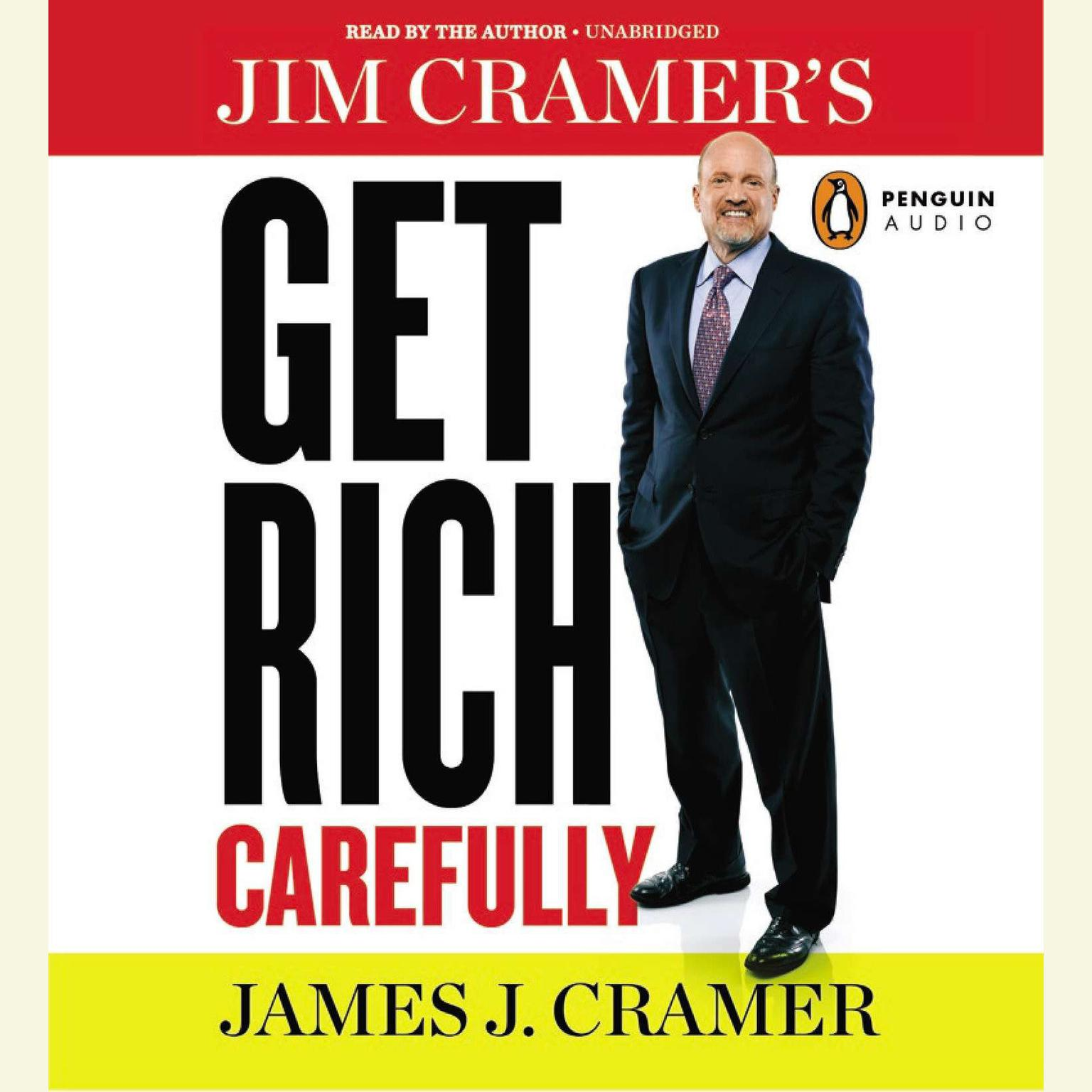 Printable Jim Cramer's Get Rich Carefully Audiobook Cover Art