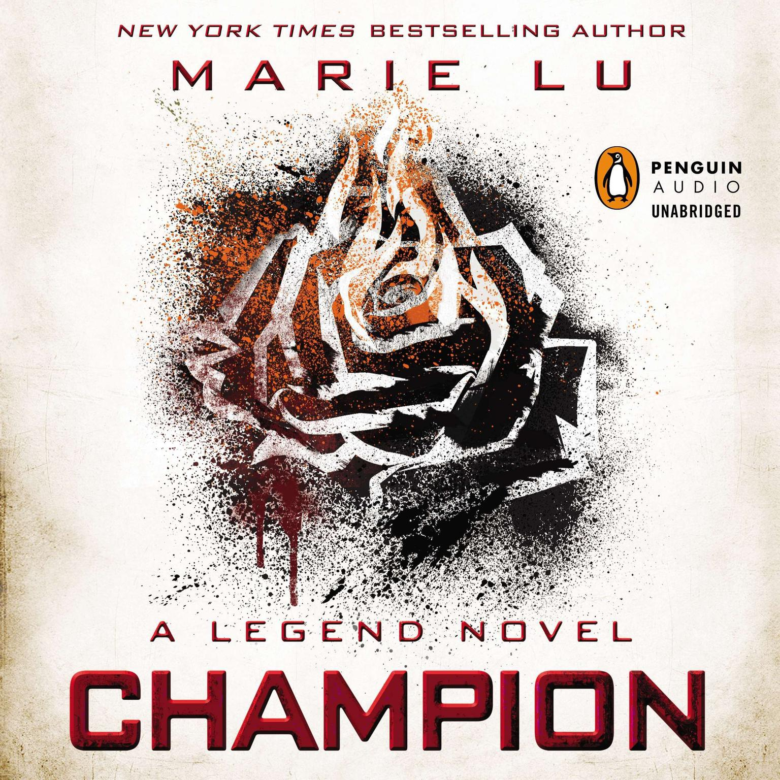 Printable Champion: A Legend Novel Audiobook Cover Art