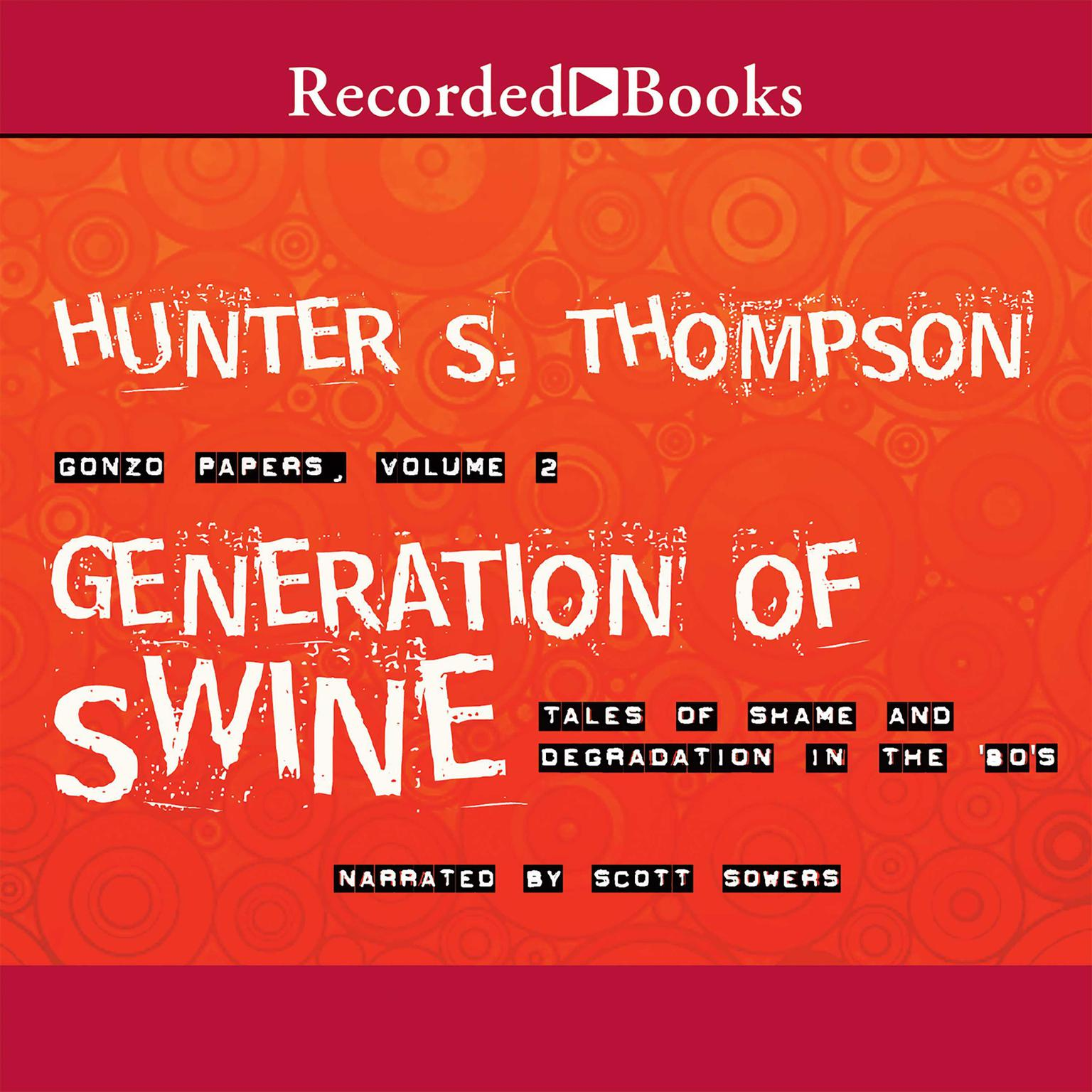 Printable Generation of Swine: Tales of Shame and Degradation in the '80s Audiobook Cover Art