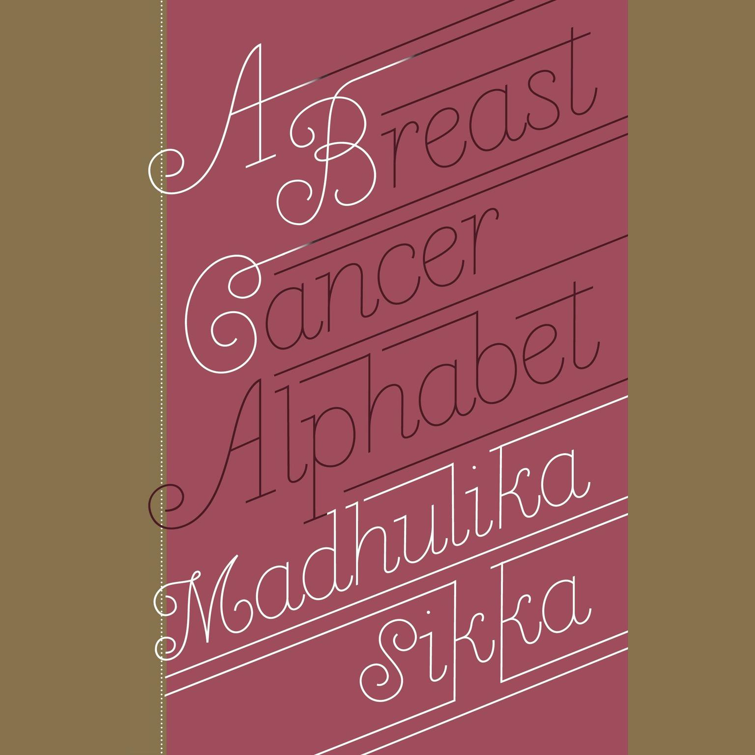 Printable A Breast Cancer Alphabet Audiobook Cover Art