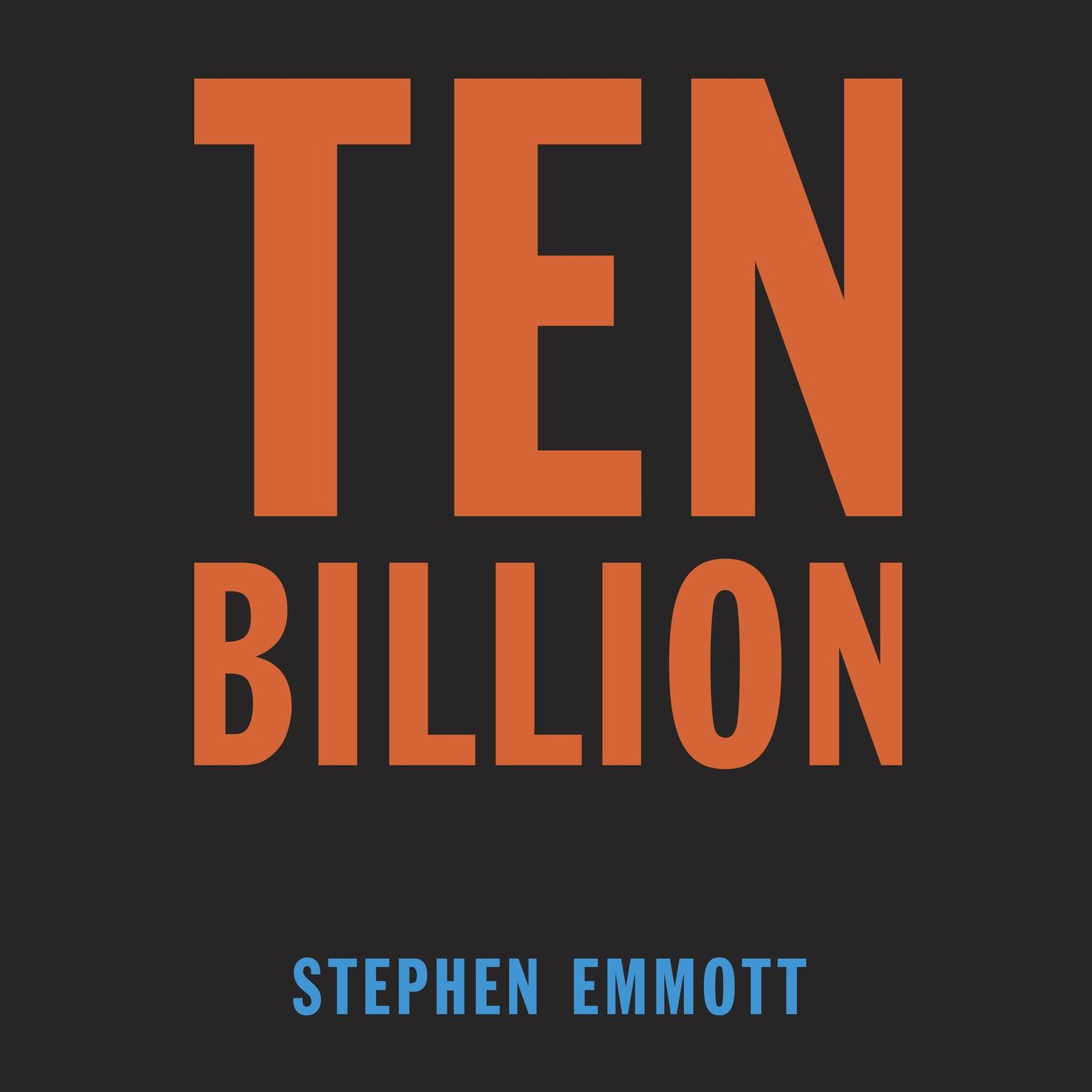 Printable Ten Billion Audiobook Cover Art