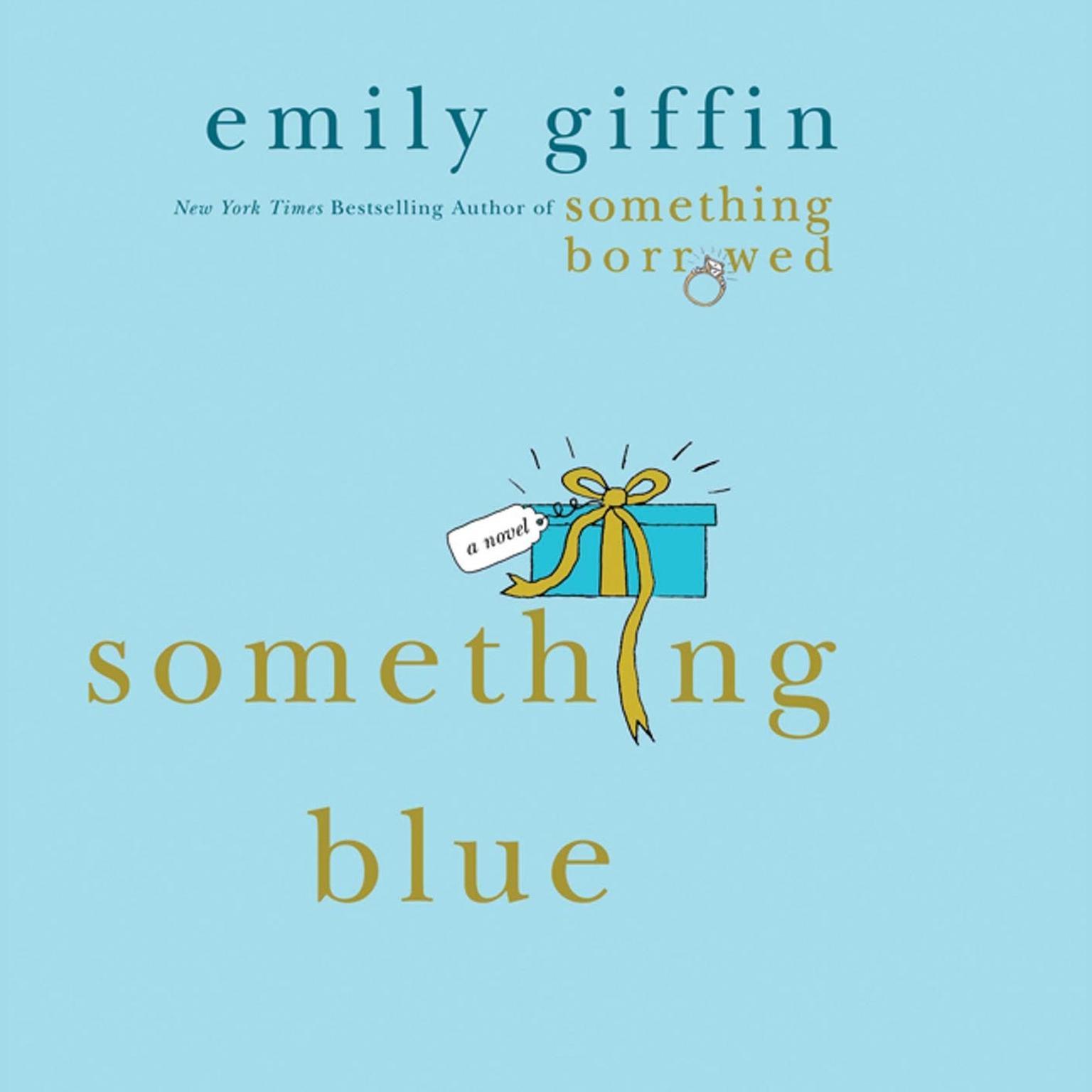 Printable Something Blue: A Novel Audiobook Cover Art