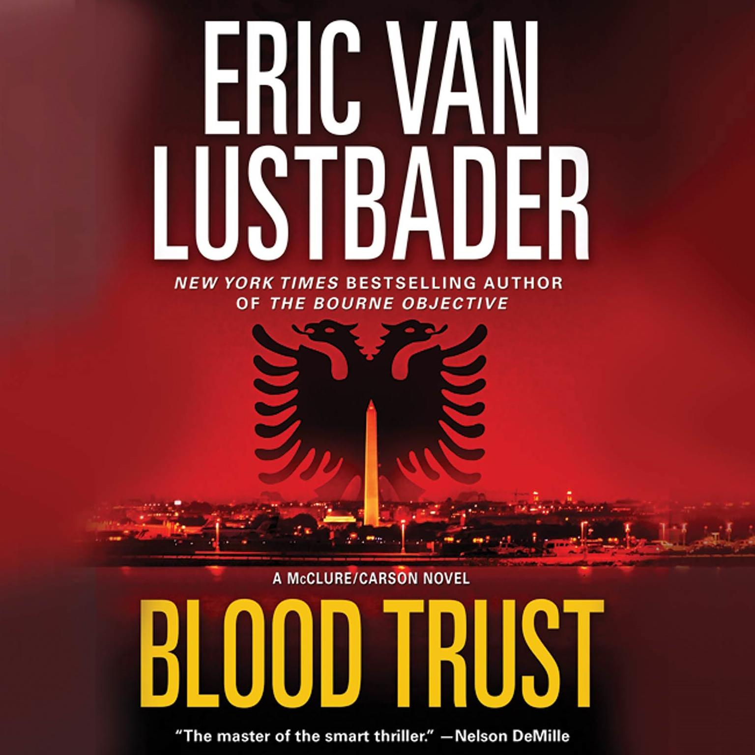Printable Blood Trust Audiobook Cover Art