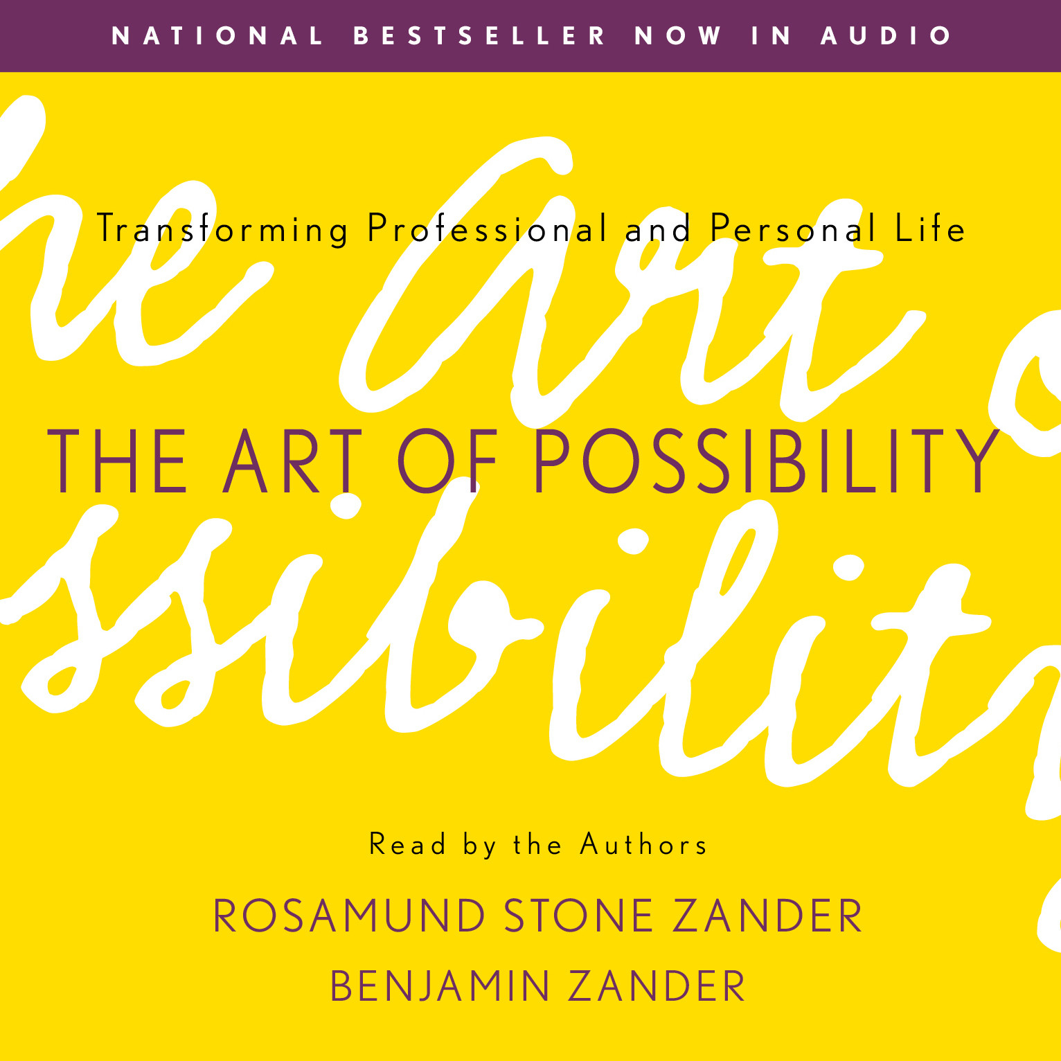 Printable The Art of Possibility Audiobook Cover Art