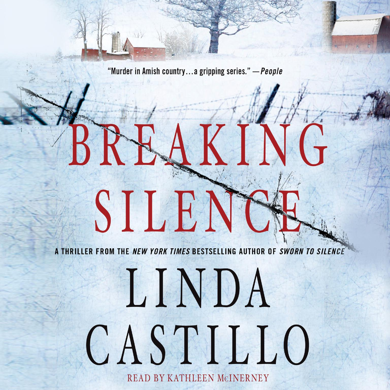 Printable Breaking Silence: A Kate Burkholder Novel Audiobook Cover Art