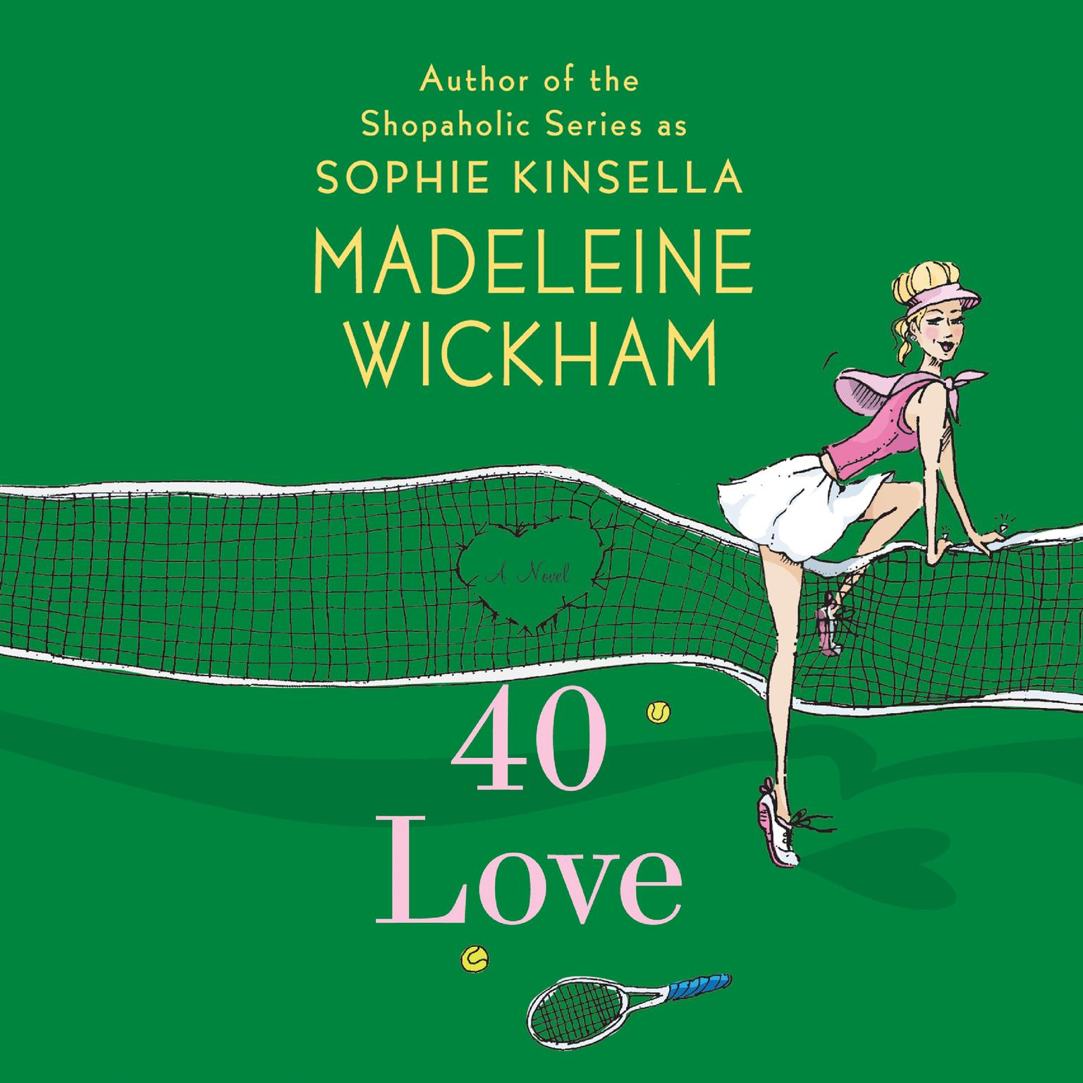 Printable 40 Love: A Novel Audiobook Cover Art