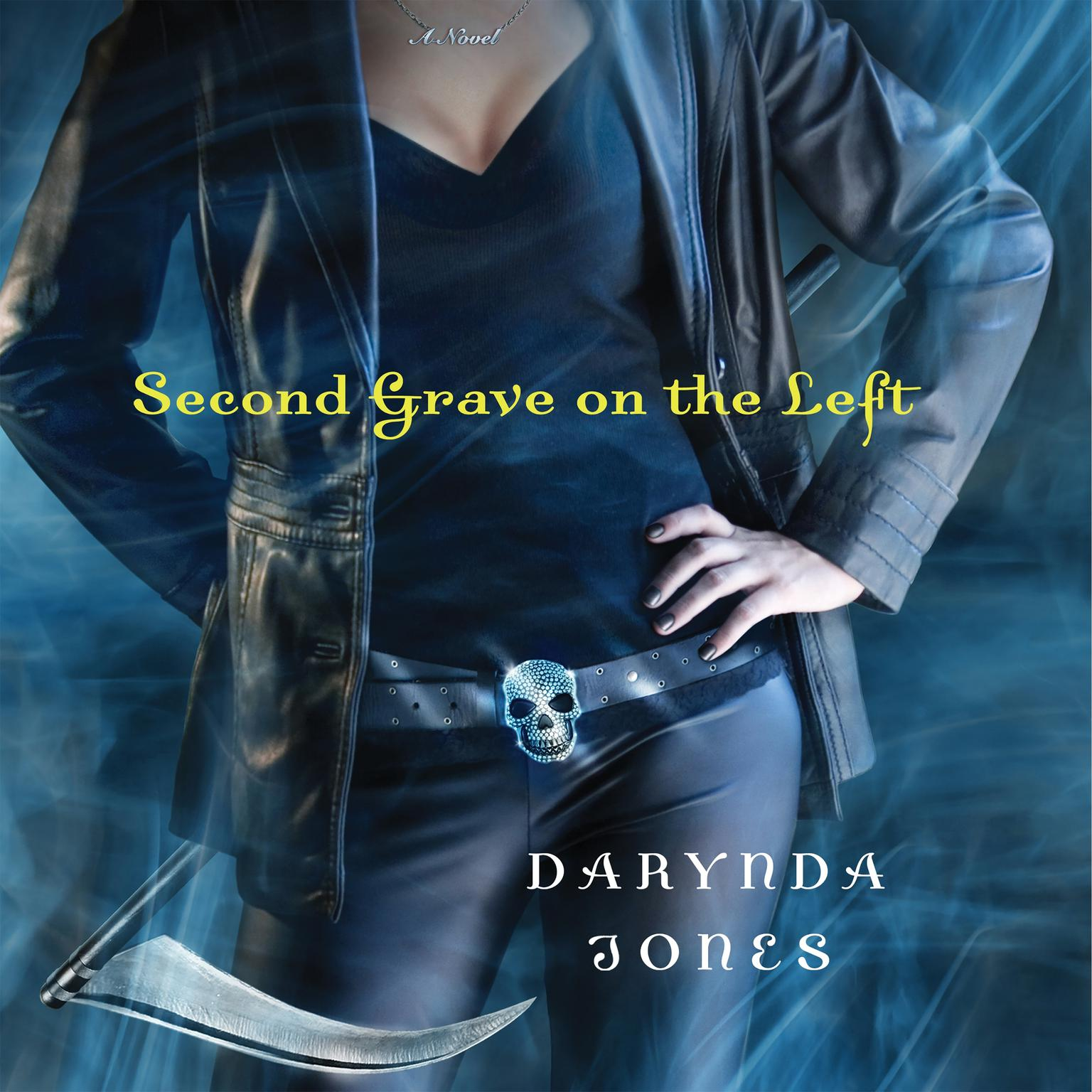 Printable Second Grave on the Left Audiobook Cover Art