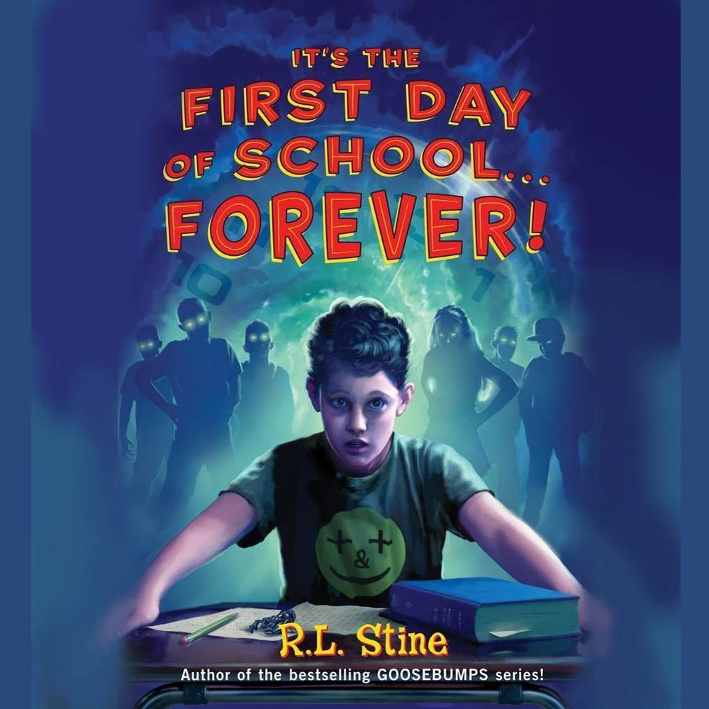 Printable It's the First Day of School…Forever! Audiobook Cover Art